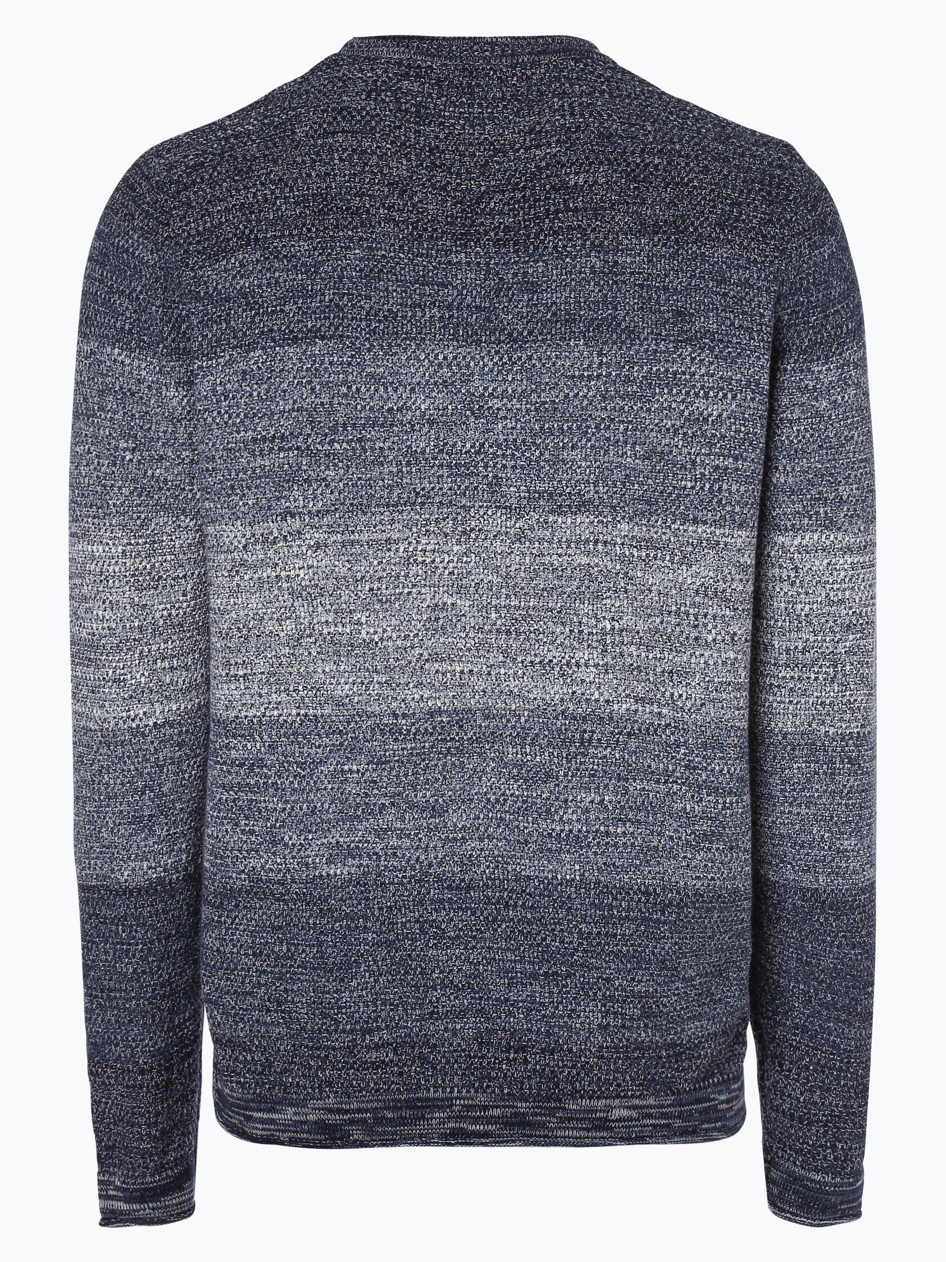 jack jones herren pullover blau gestreift online kaufen. Black Bedroom Furniture Sets. Home Design Ideas