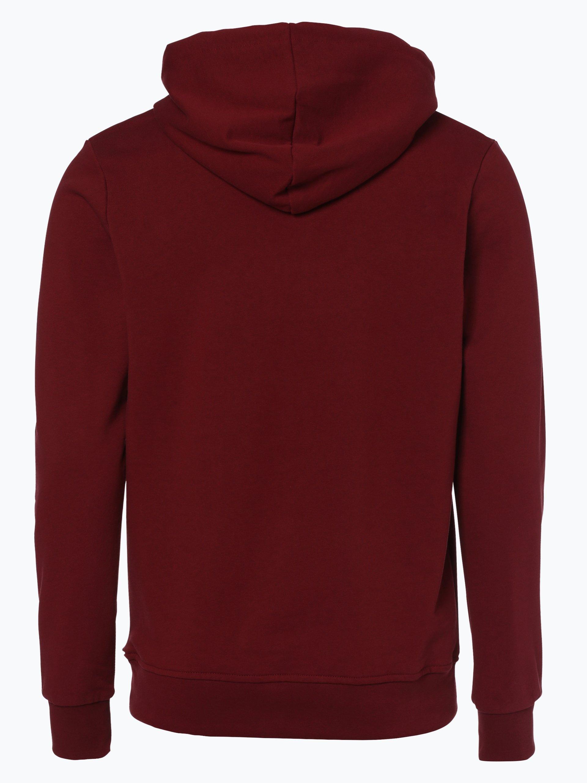 jack jones herren sweatshirt rot gemustert online kaufen. Black Bedroom Furniture Sets. Home Design Ideas