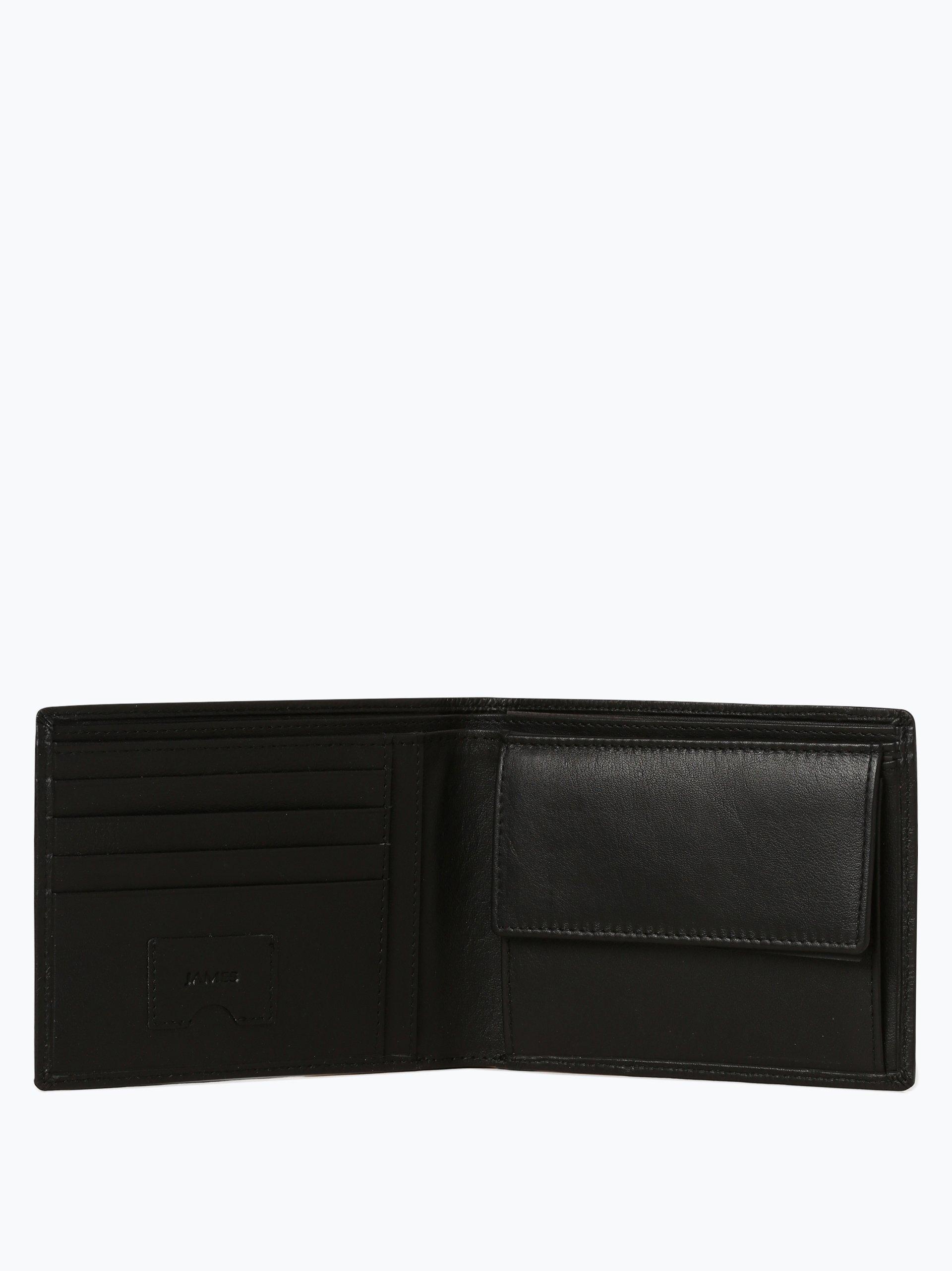 james herren geldb rse aus leder schwarz uni online kaufen vangraaf com. Black Bedroom Furniture Sets. Home Design Ideas
