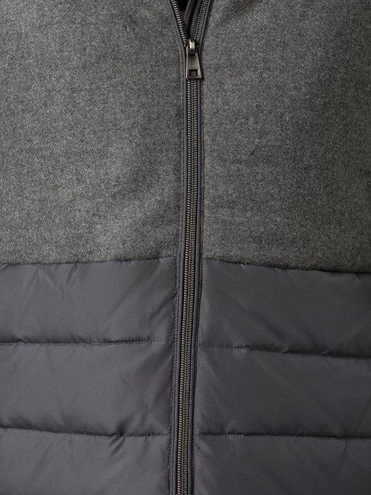Adidas Originals Herren SY Fake Leather Jacke mit Kapuze