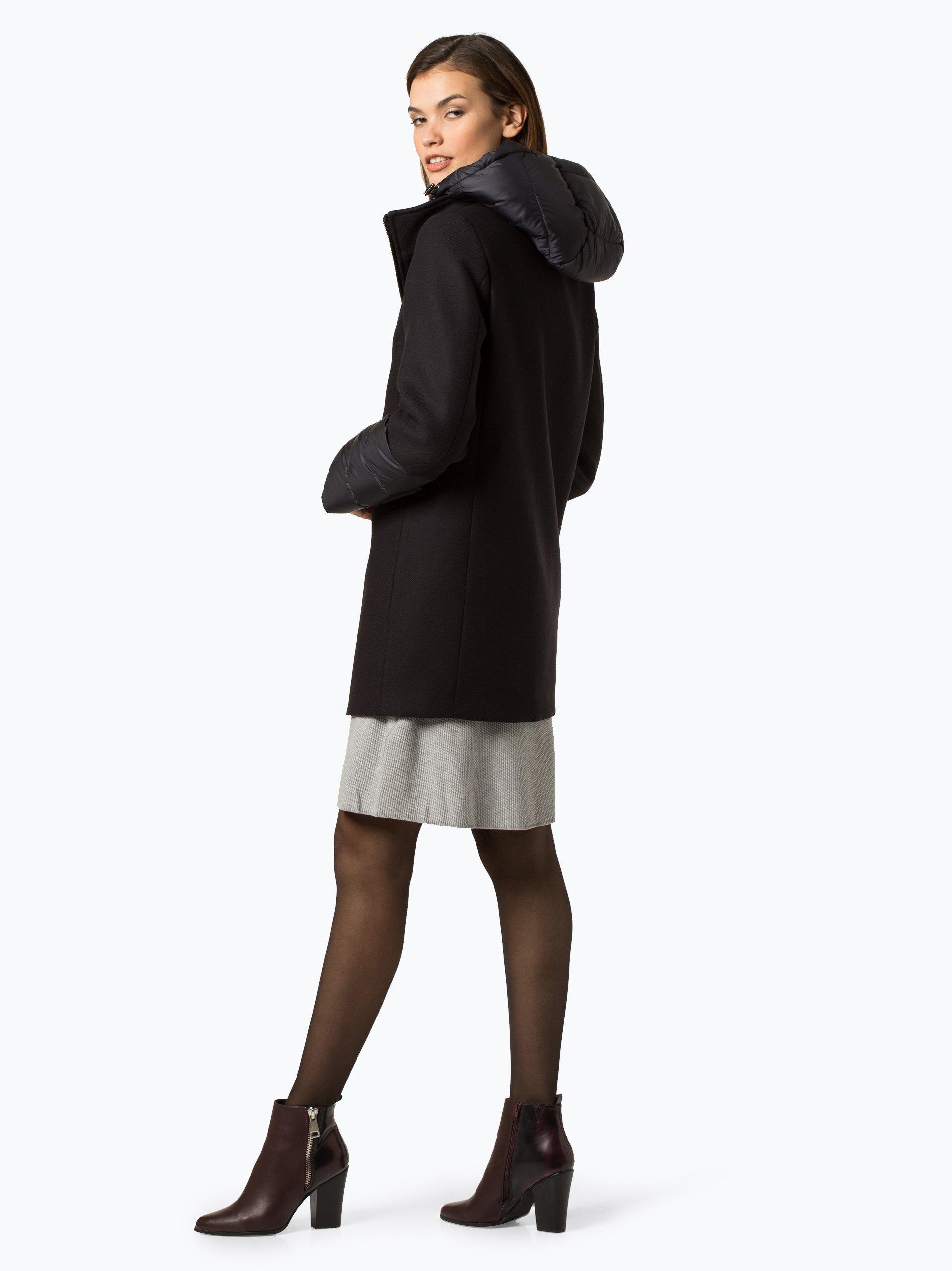jan mayen damen mantel mit cashmere anteil salice marine uni online kaufen vangraaf com. Black Bedroom Furniture Sets. Home Design Ideas