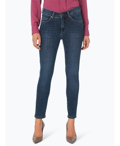Jeansy damskie – Skinny z krótkimi nogawkami