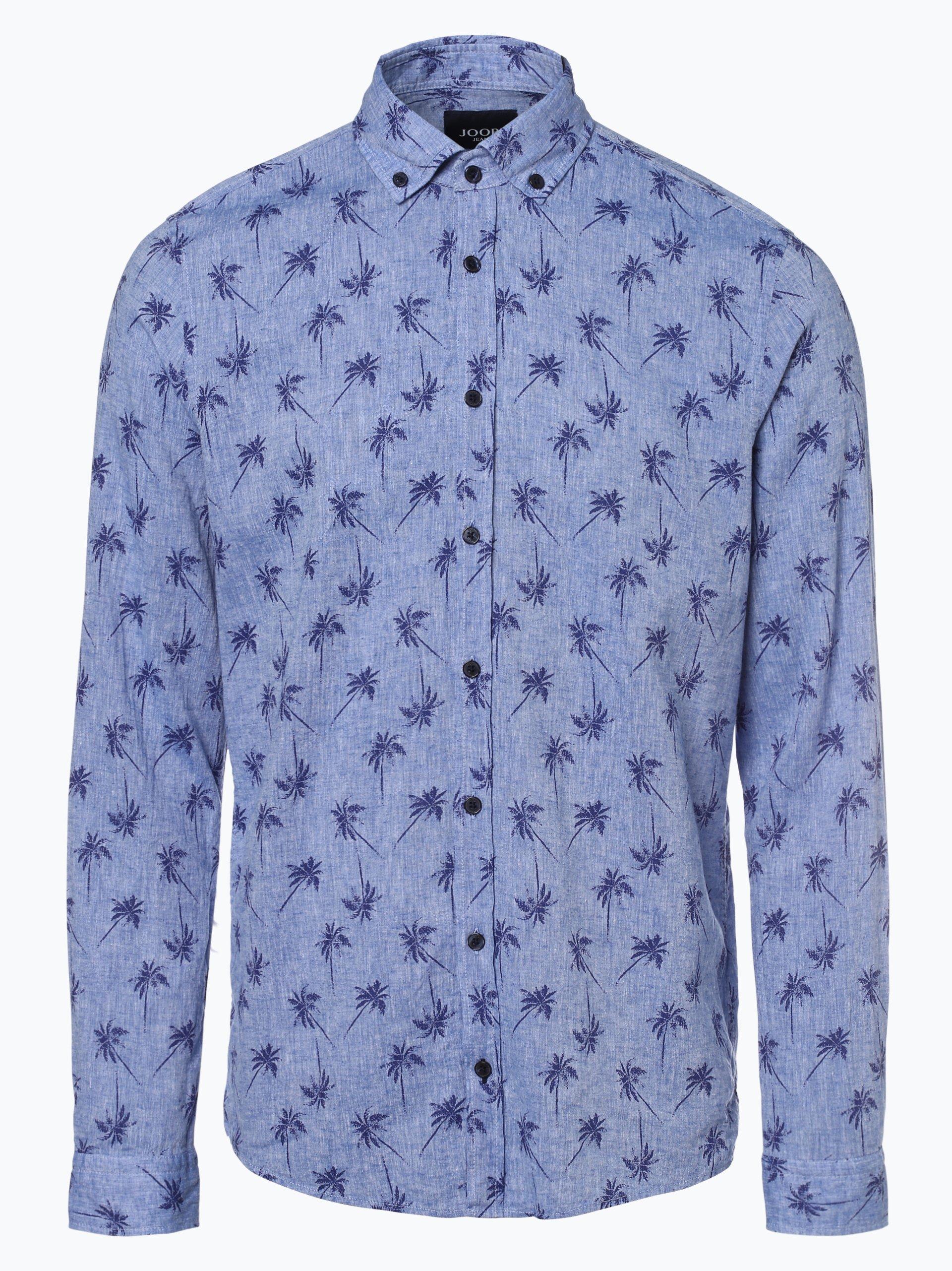 Joop Herren Hemd mit Leinen-Anteil - Heli