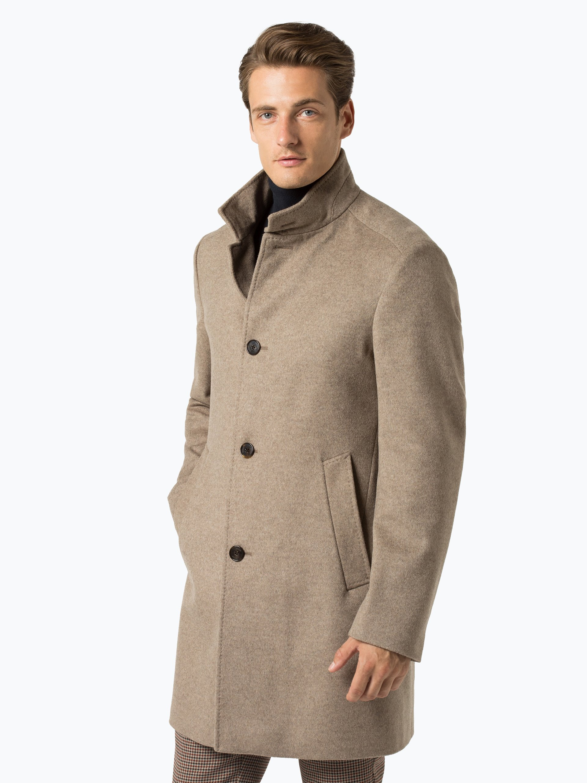 joop herren mantel mit cashmere anteil jc 21maron online. Black Bedroom Furniture Sets. Home Design Ideas