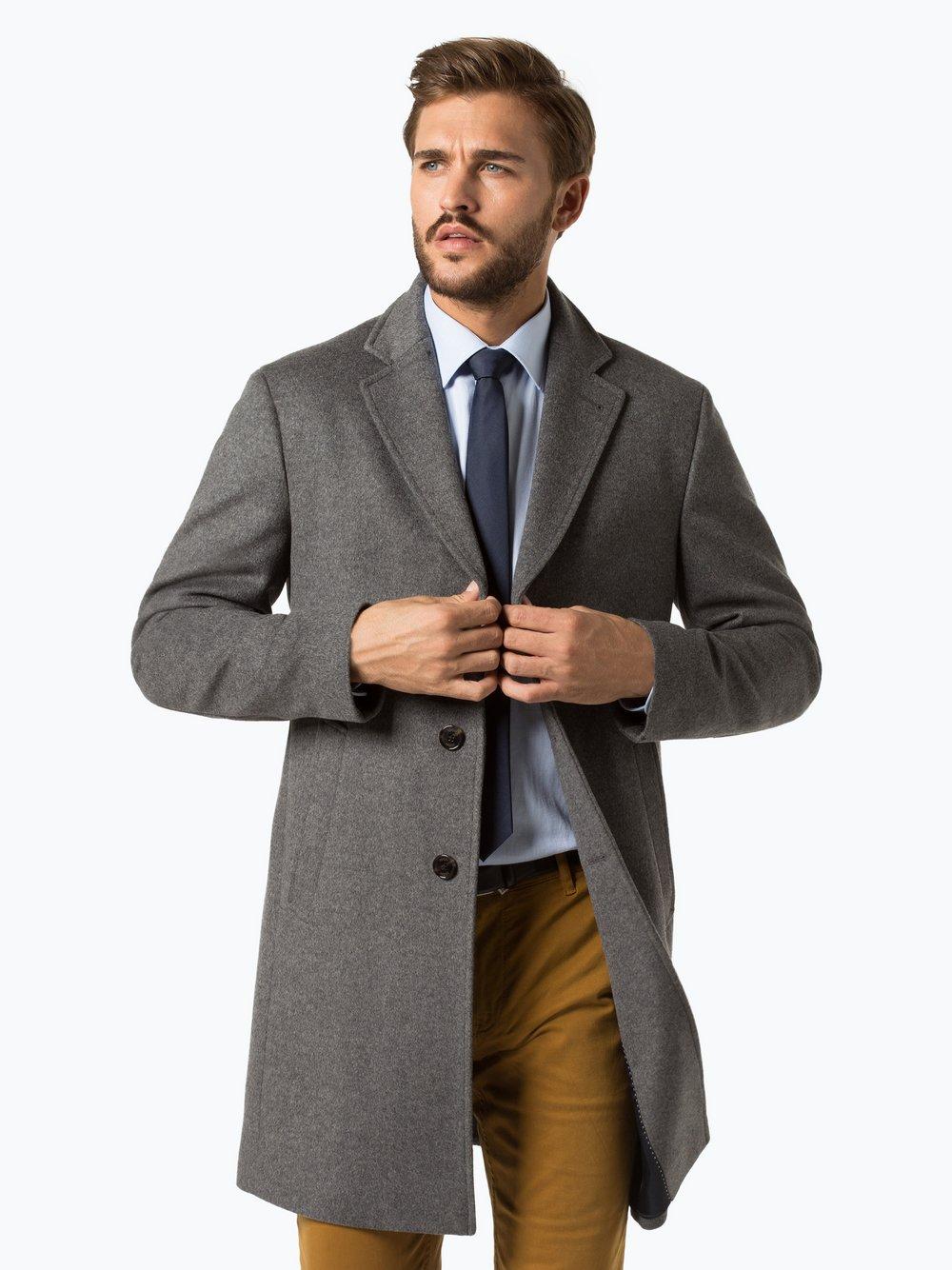 joop herren mantel mit cashmere anteil mariso online kaufen peek  joop herren mantel mit cashmere anteil mariso 0