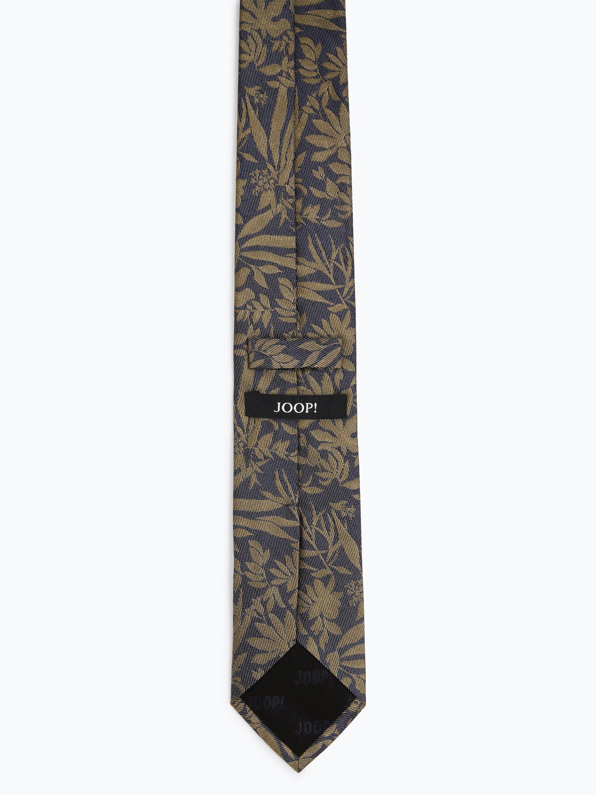 Joop Męski krawat z jedwabiu