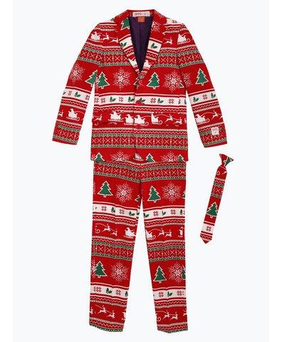 Jungen Anzug mit Krawatte - Winter Wonderland