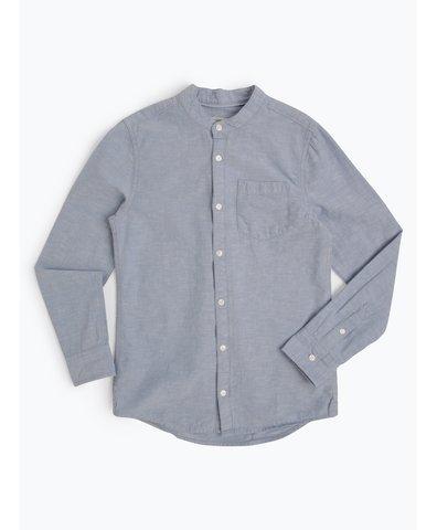 Jungen Hemd mit Leinen-Anteil