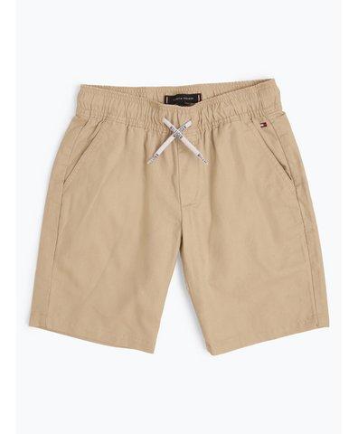 Jungen Shorts mit Leinen-Anteil