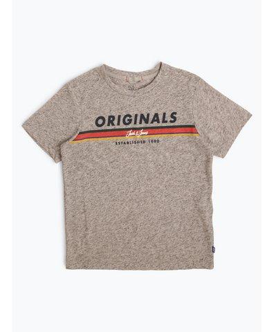 Jungen T-Shirt mit Leinen-Anteil - Jortuco