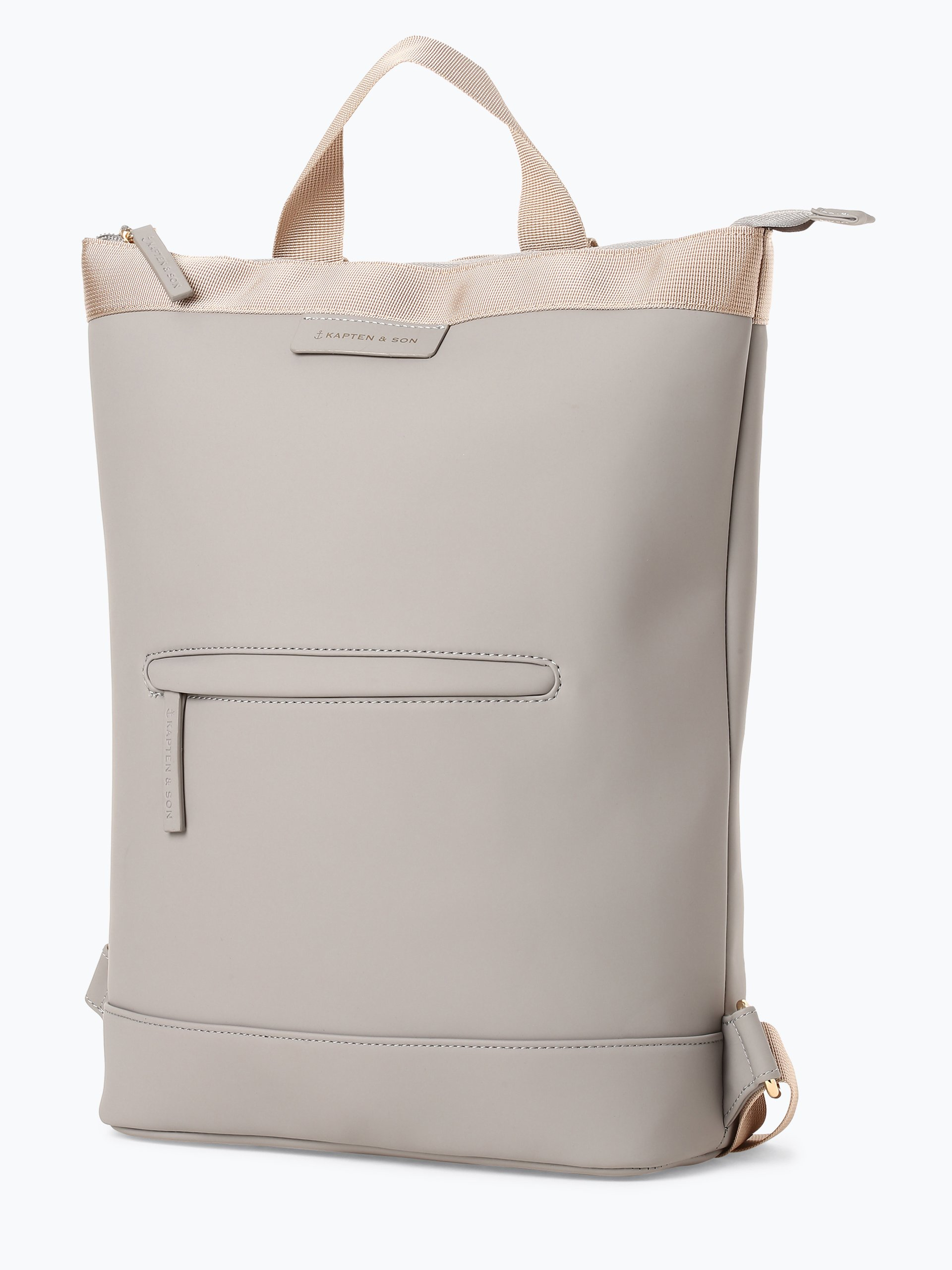 kapten and son damen rucksack ume grau taupe uni online kaufen peek und cloppenburg de. Black Bedroom Furniture Sets. Home Design Ideas