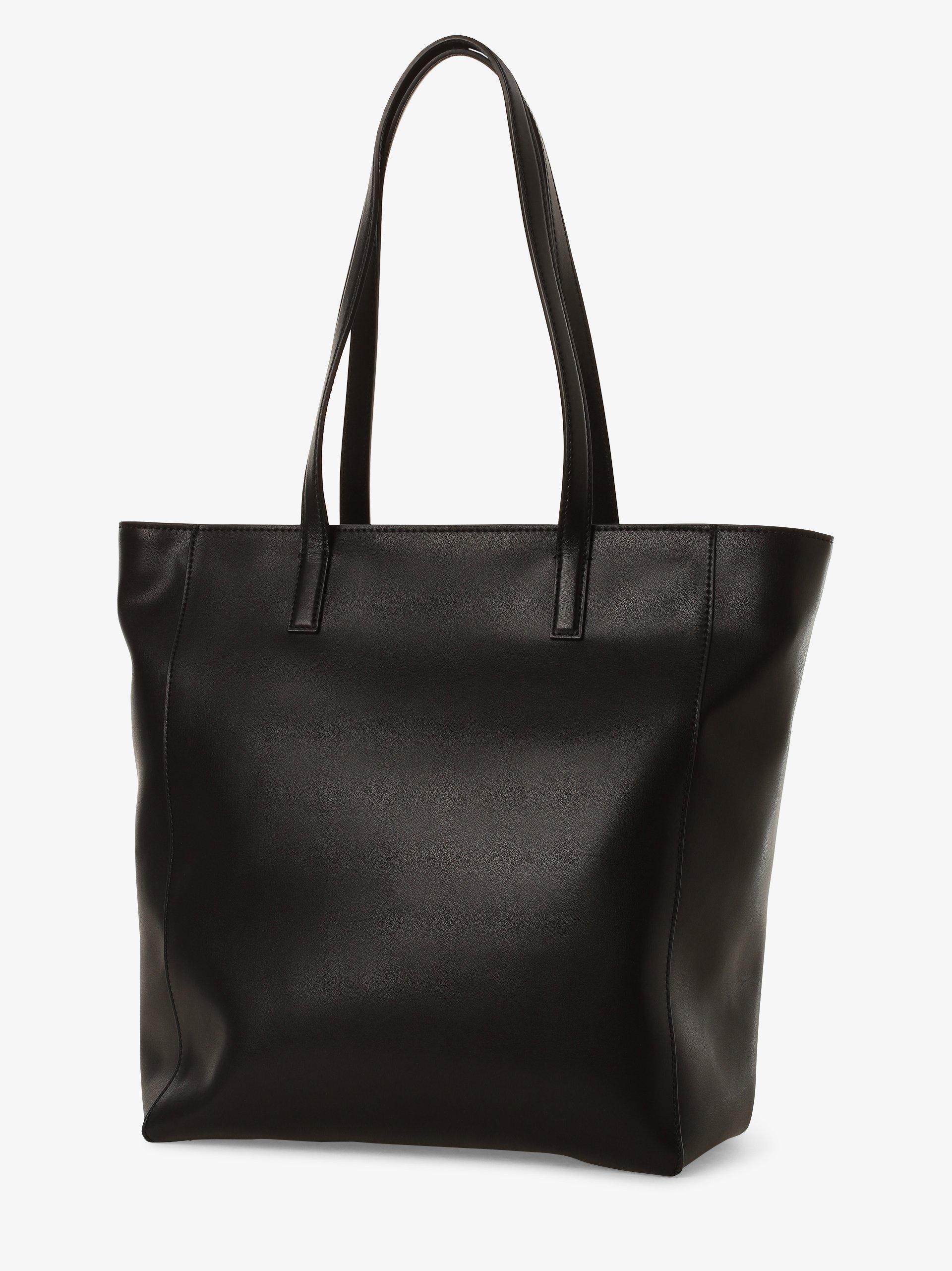 KARL LAGERFELD Damska torba shopper z dodatkiem skóry