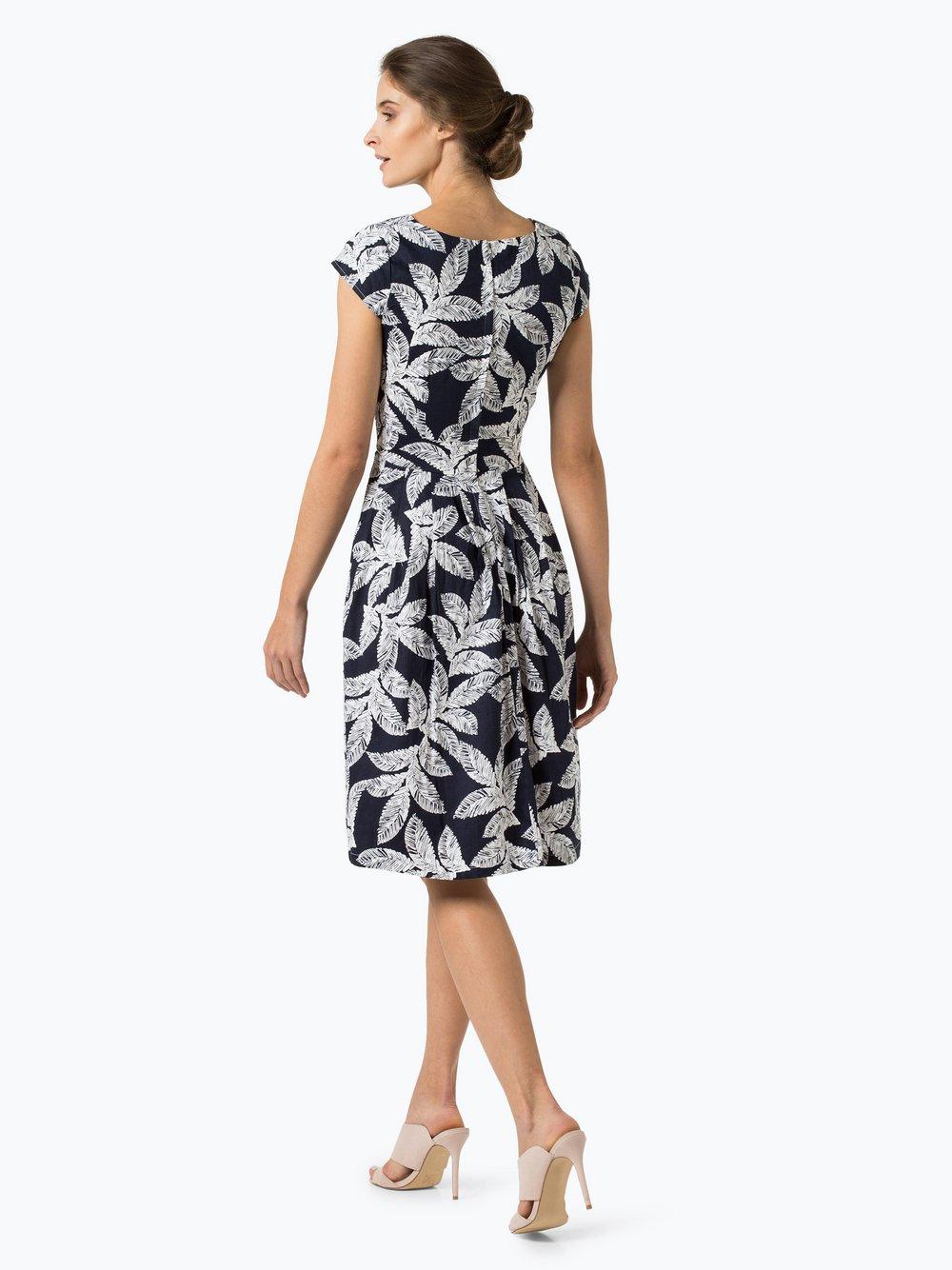 Kavi Damen Kleid marine weiß bedruckt online kaufen | PEEK-UND ...