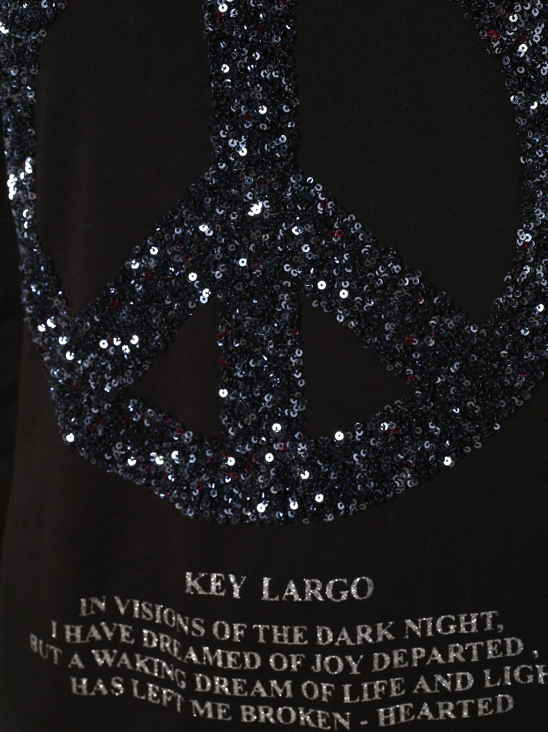 Key Largo Damen Langarmshirt - Wls Peace