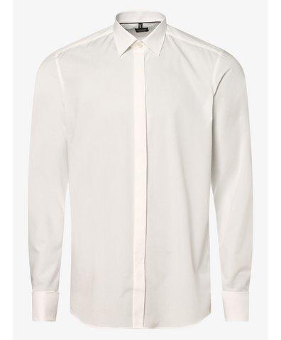 Koszula męska łatwa w prasowaniu z wywijanymi mankietami