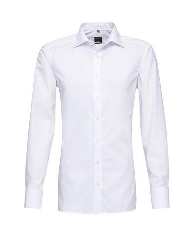 Koszula męska niewymagająca prasowania z wywijanymi mankietami