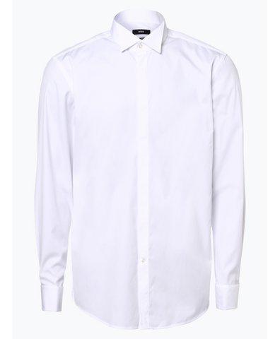 Koszula męska z wywijanymi mankietami – Illik