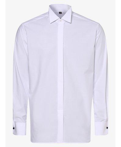 Koszula męska z wywijanymi mankietami – niewymagająca prasowania