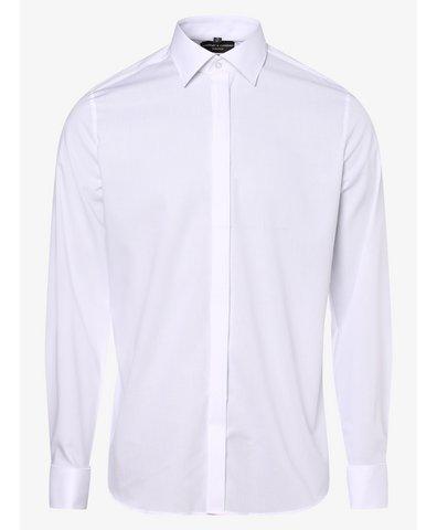 Koszula męska z wywijanymi mankietami