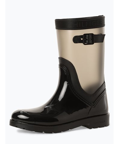Kozaki damskie – Translucent Detail Rain Boot