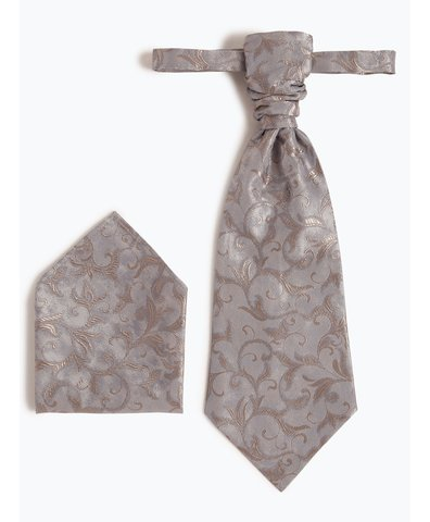 Krawat męski i poszetka