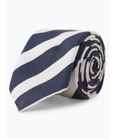 Krawat męski z dodatkiem jedwabiu – Tie 6 cm