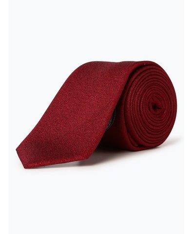 Krawat męski z dodatkiem jedwabiu