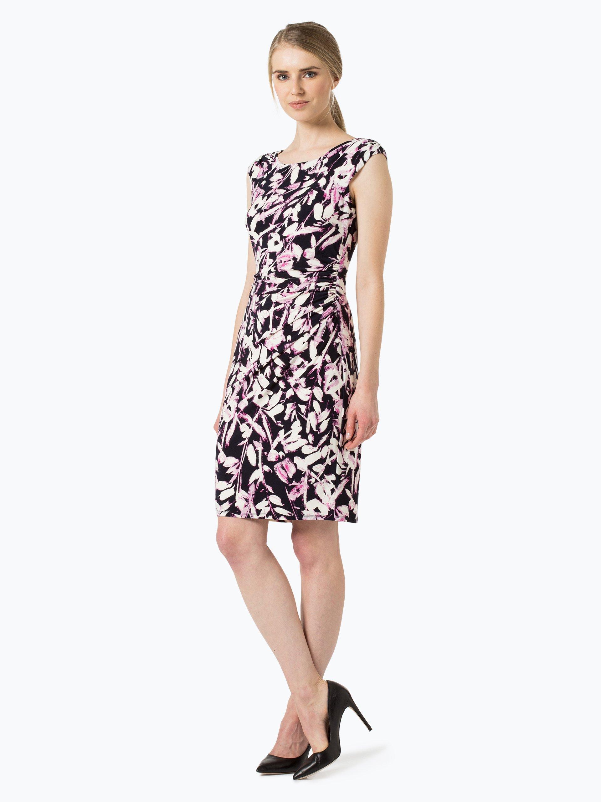 lauren damen kleid koriza pink gemustert online kaufen. Black Bedroom Furniture Sets. Home Design Ideas