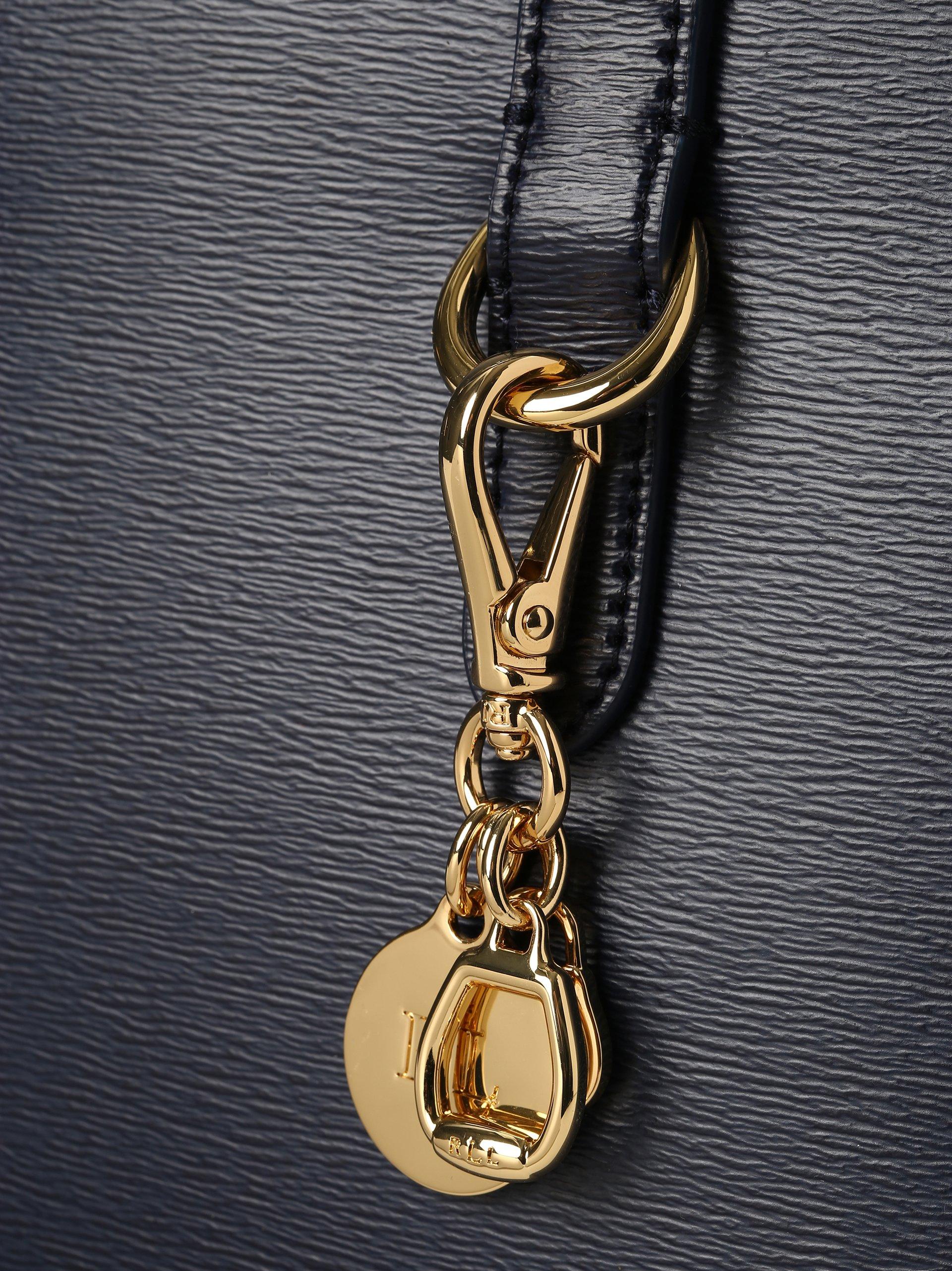 Lauren Ralph Lauren Damen Handtasche aus Leder