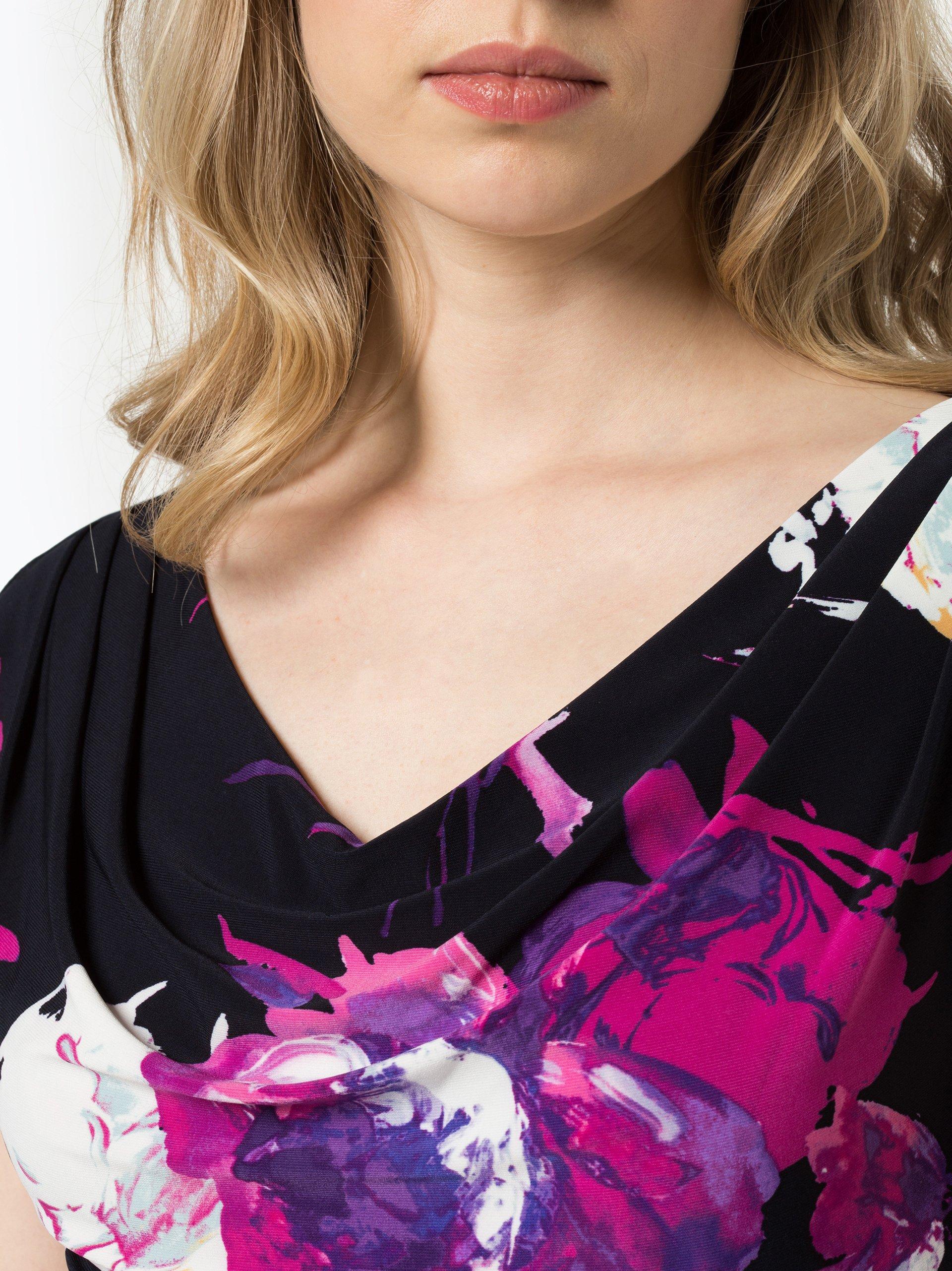 lauren ralph lauren damen kleid marine fuchsia gemustert online kaufen peek und cloppenburg de. Black Bedroom Furniture Sets. Home Design Ideas