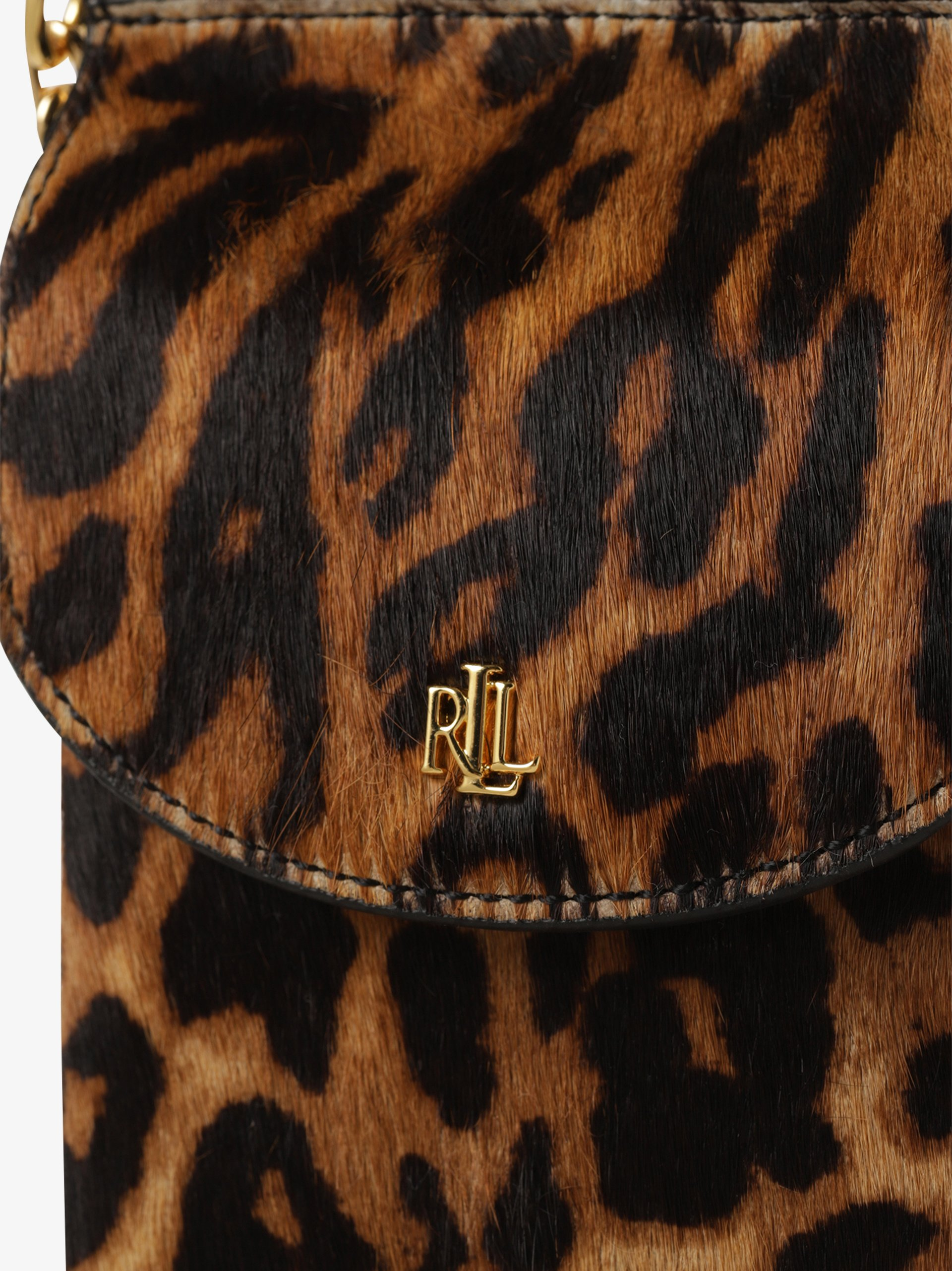 Lauren Ralph Lauren Damska torba na ramię ze skóry