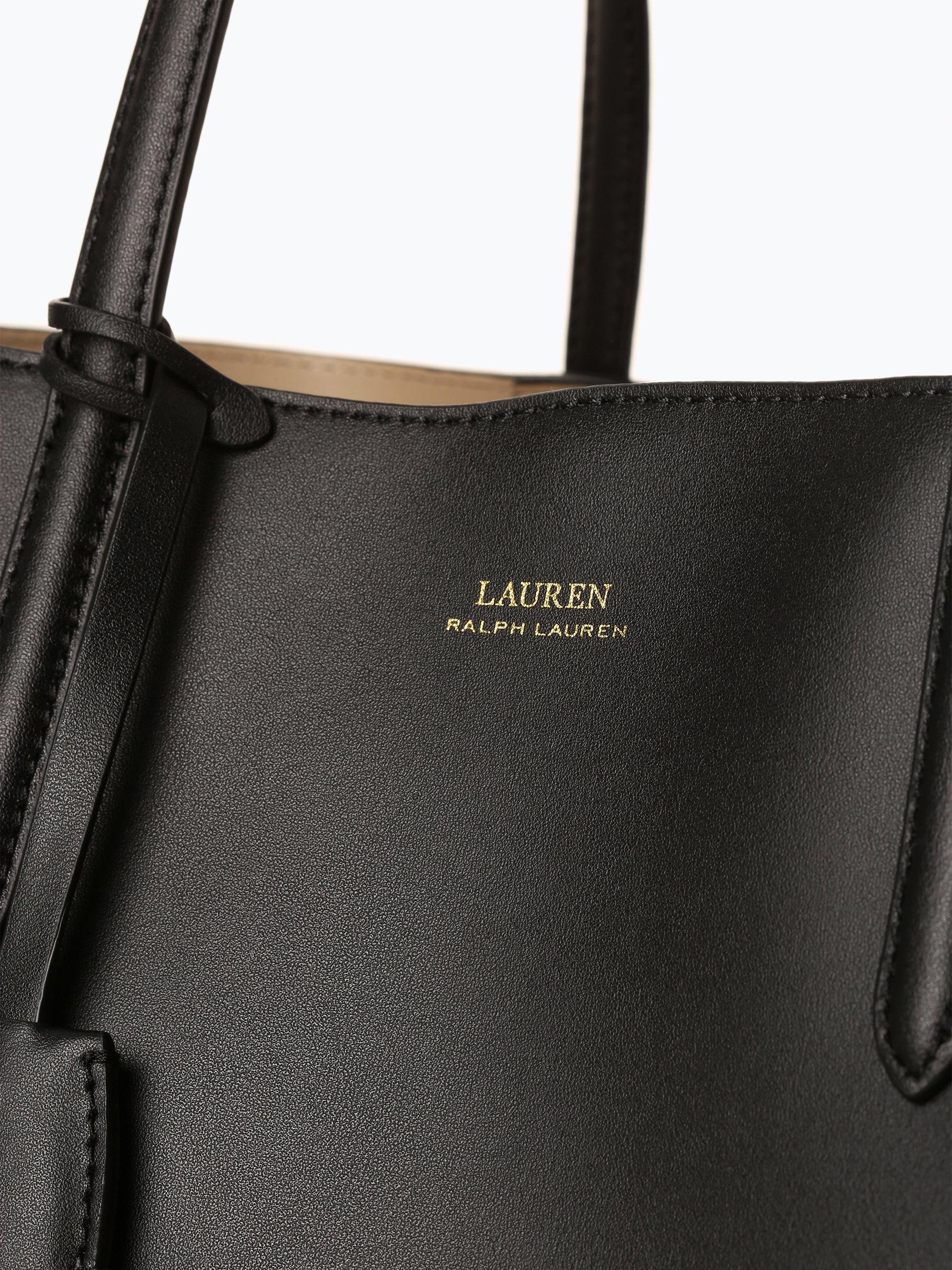 Lauren Ralph Lauren Damska torba shopper ze skóry