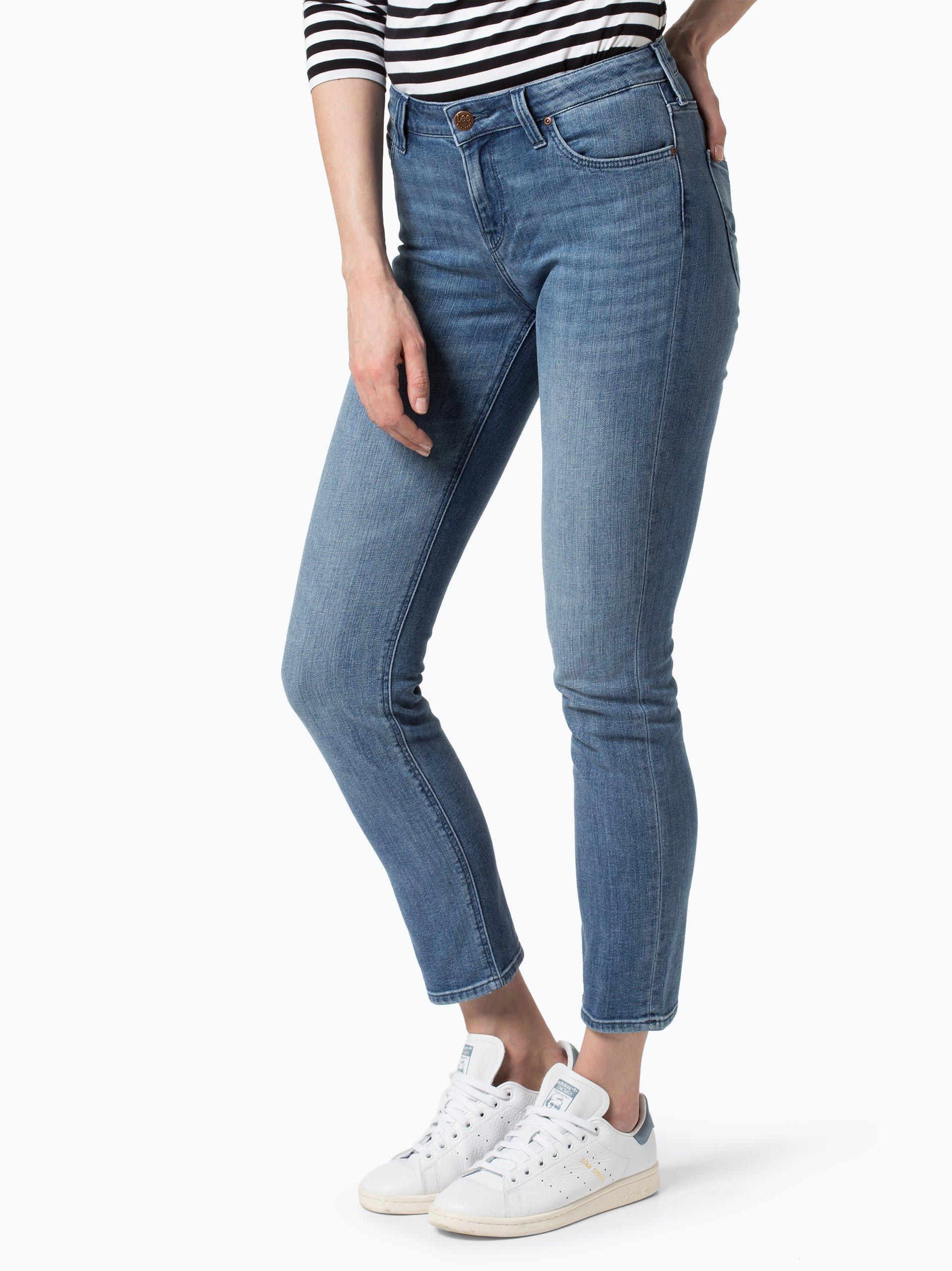 lee damen jeans elly blau uni online kaufen vangraaf com. Black Bedroom Furniture Sets. Home Design Ideas