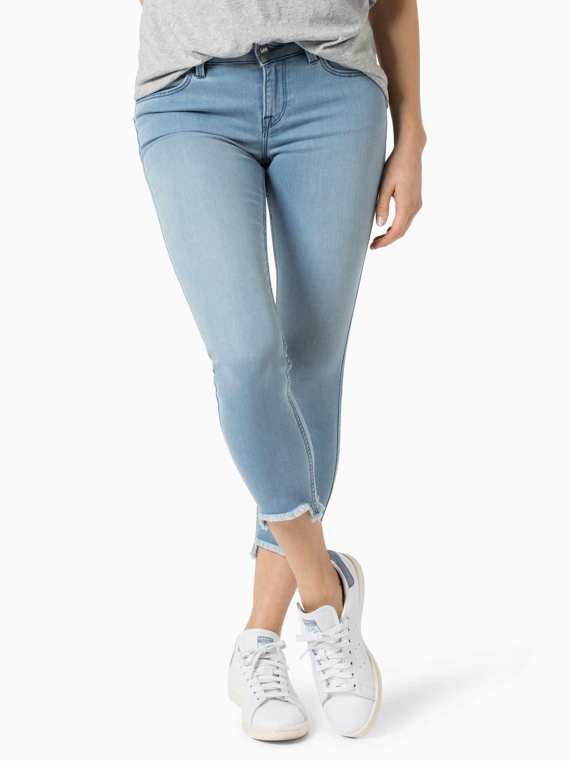 lee damen jeans scarlett hellblau uni online kaufen. Black Bedroom Furniture Sets. Home Design Ideas
