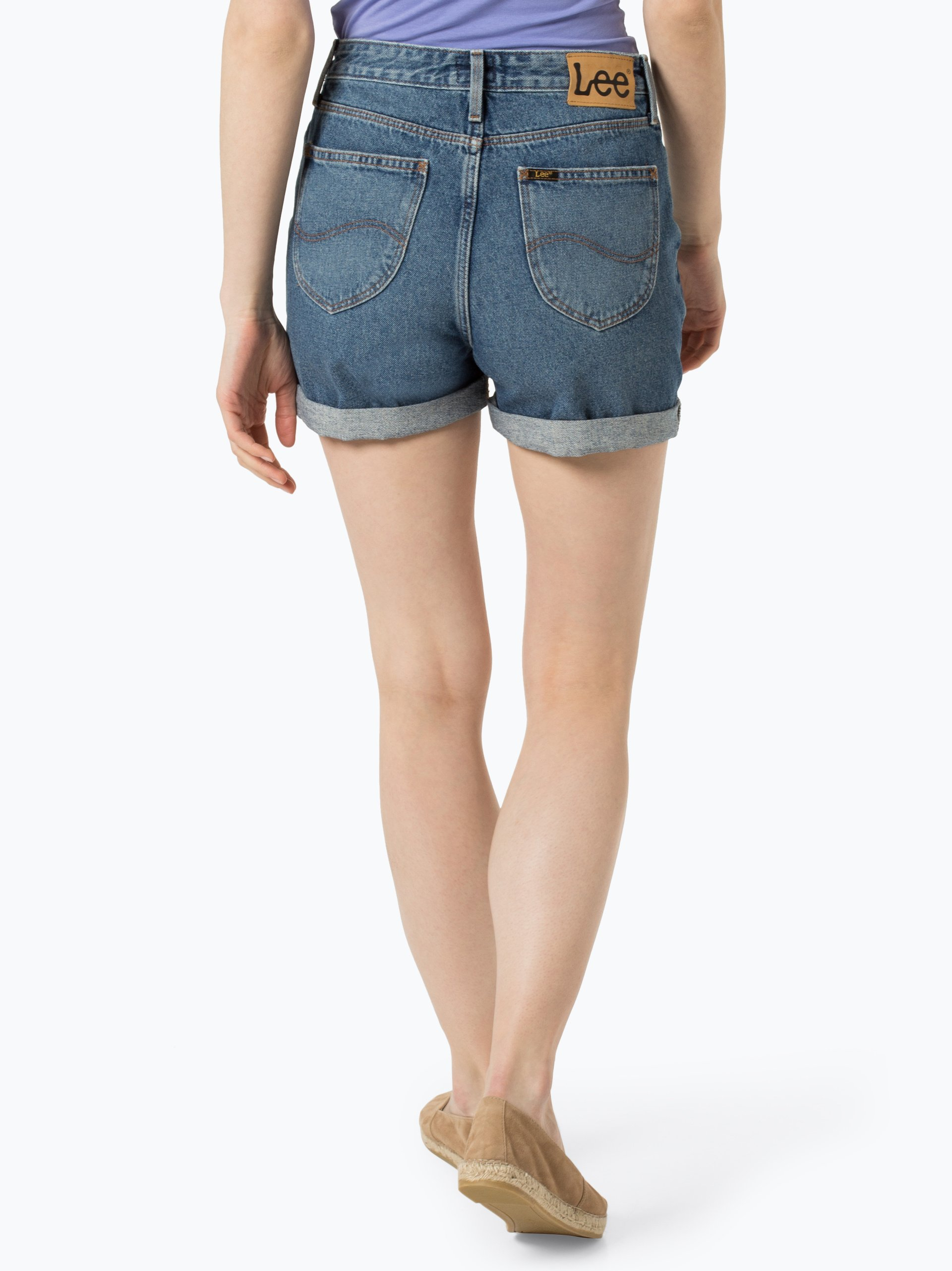Lee Damen Jeansshorts - Mom Short