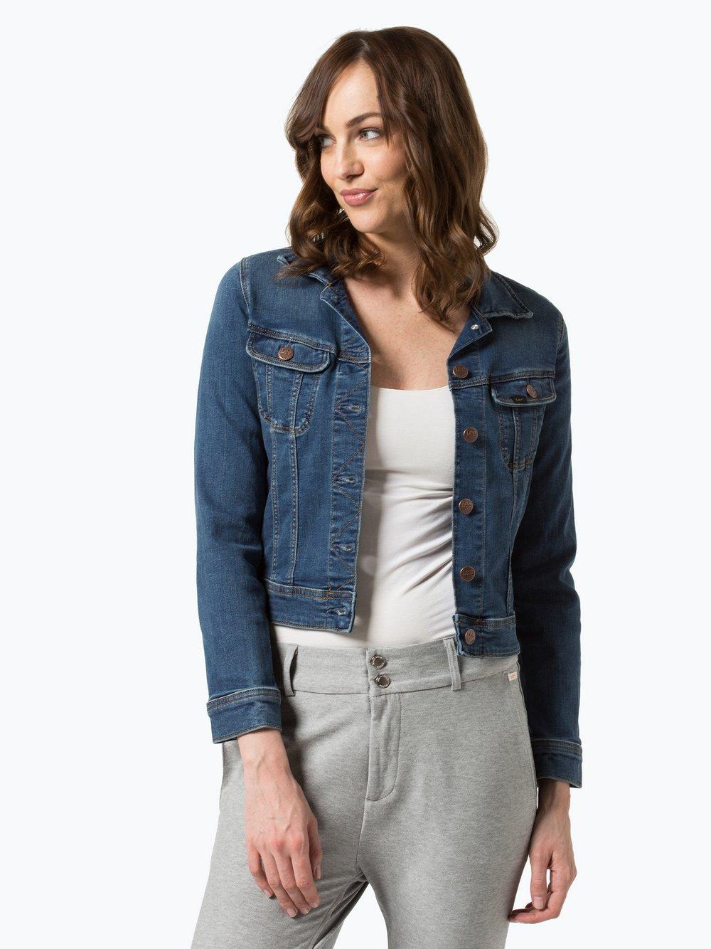 bluza dżinsowa z kapturem damska lee