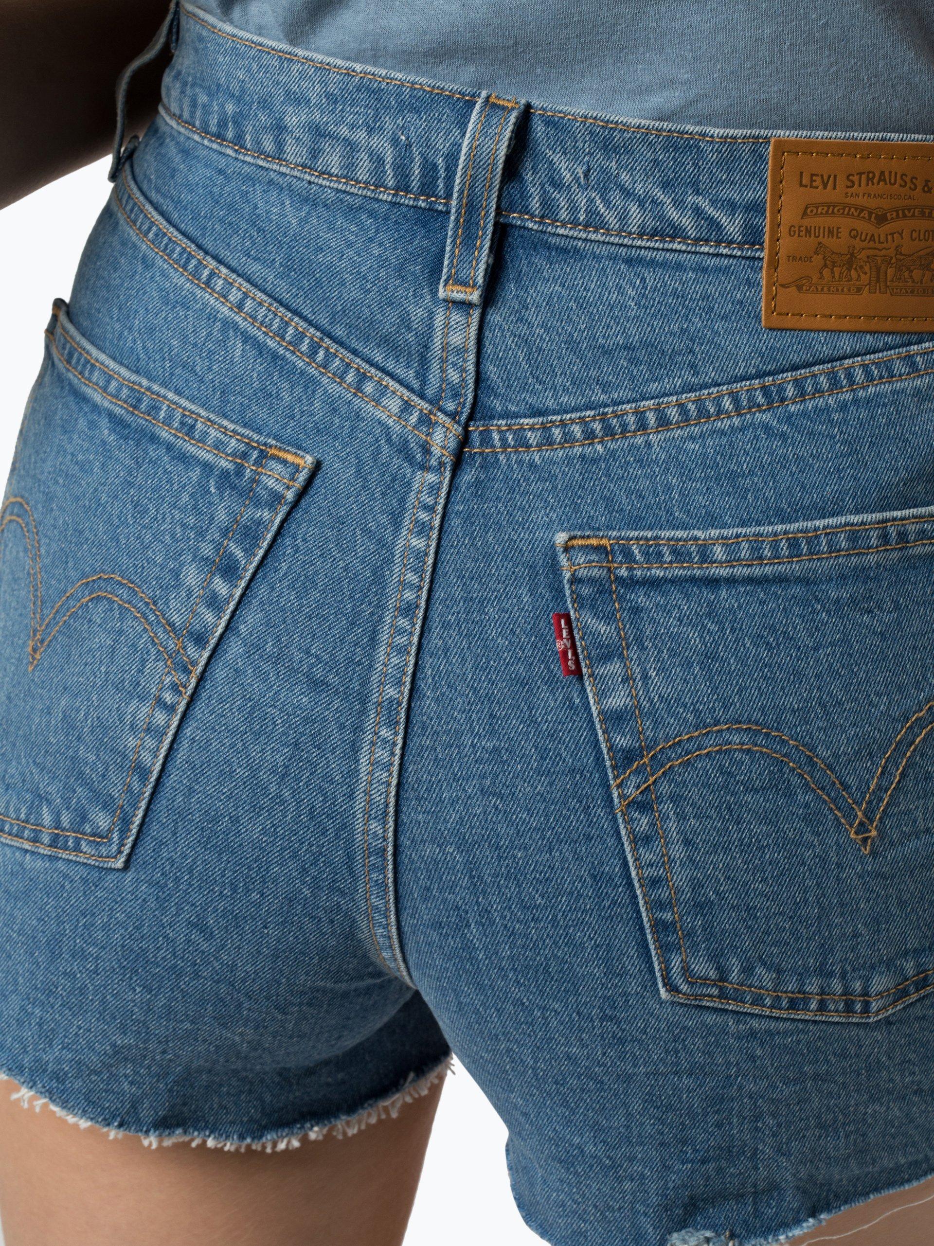 Levi\'s Damen Jeansshorts - Ribcage