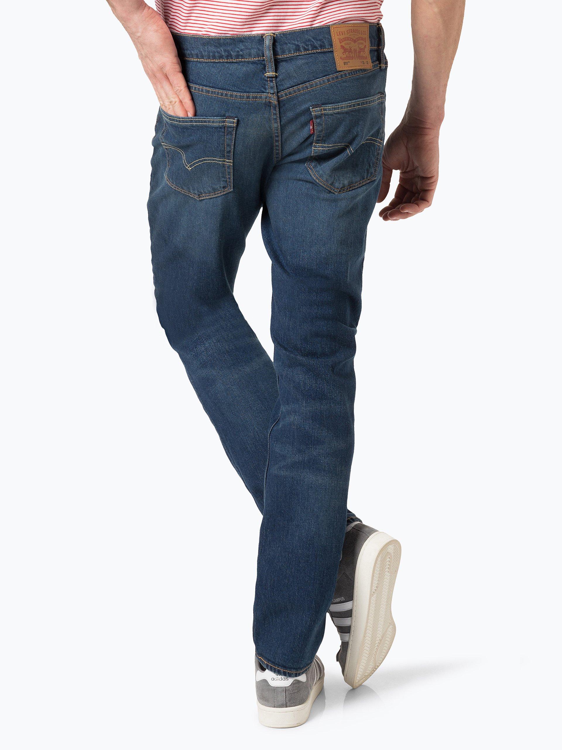 levi 39 s herren jeans dark stone uni online kaufen vangraaf com. Black Bedroom Furniture Sets. Home Design Ideas