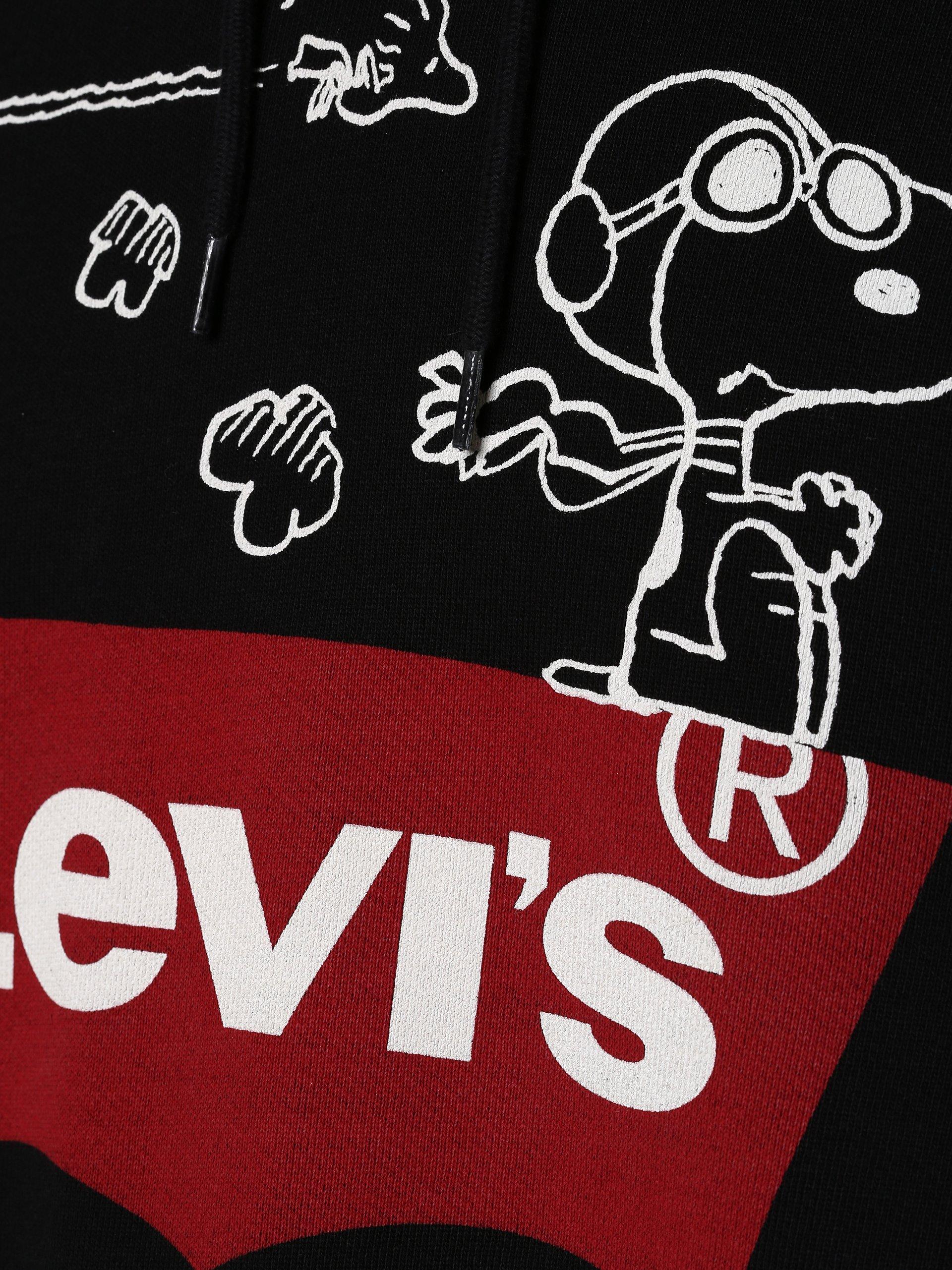 Levi\'s Herren Sweatshirt - Peanuts