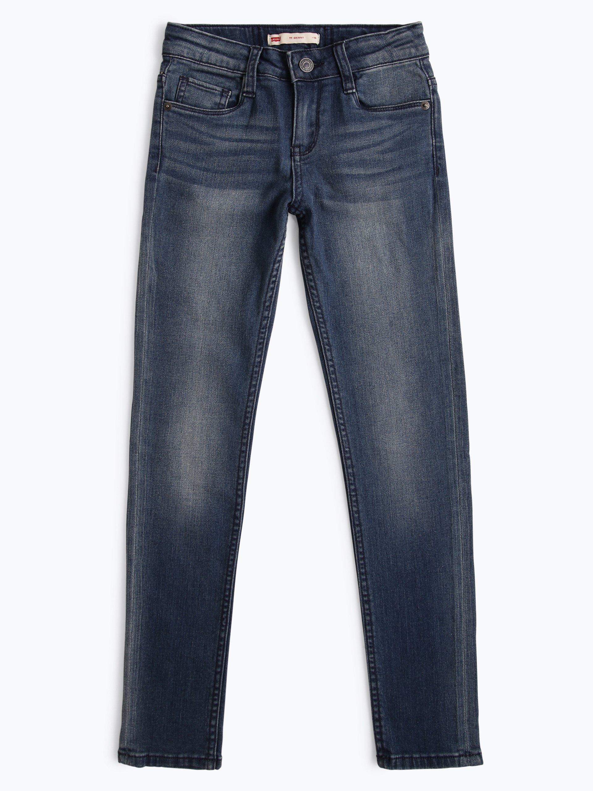 levi 39 s jungen jeans skinny fit 711 indigo uni online kaufen peek und cloppenburg de. Black Bedroom Furniture Sets. Home Design Ideas