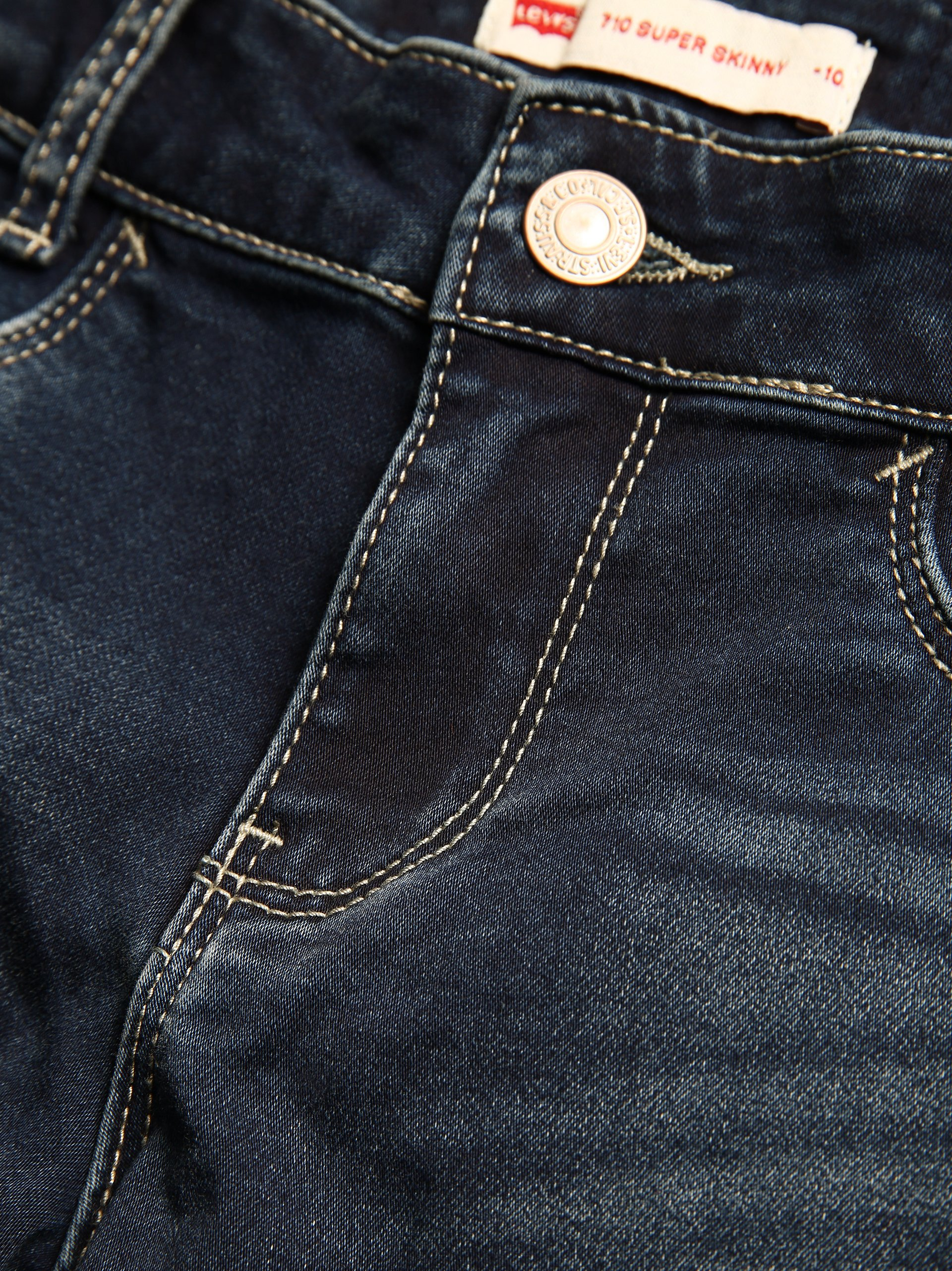 Levi\'s Mädchen Jeans - 501™ Super Skinny
