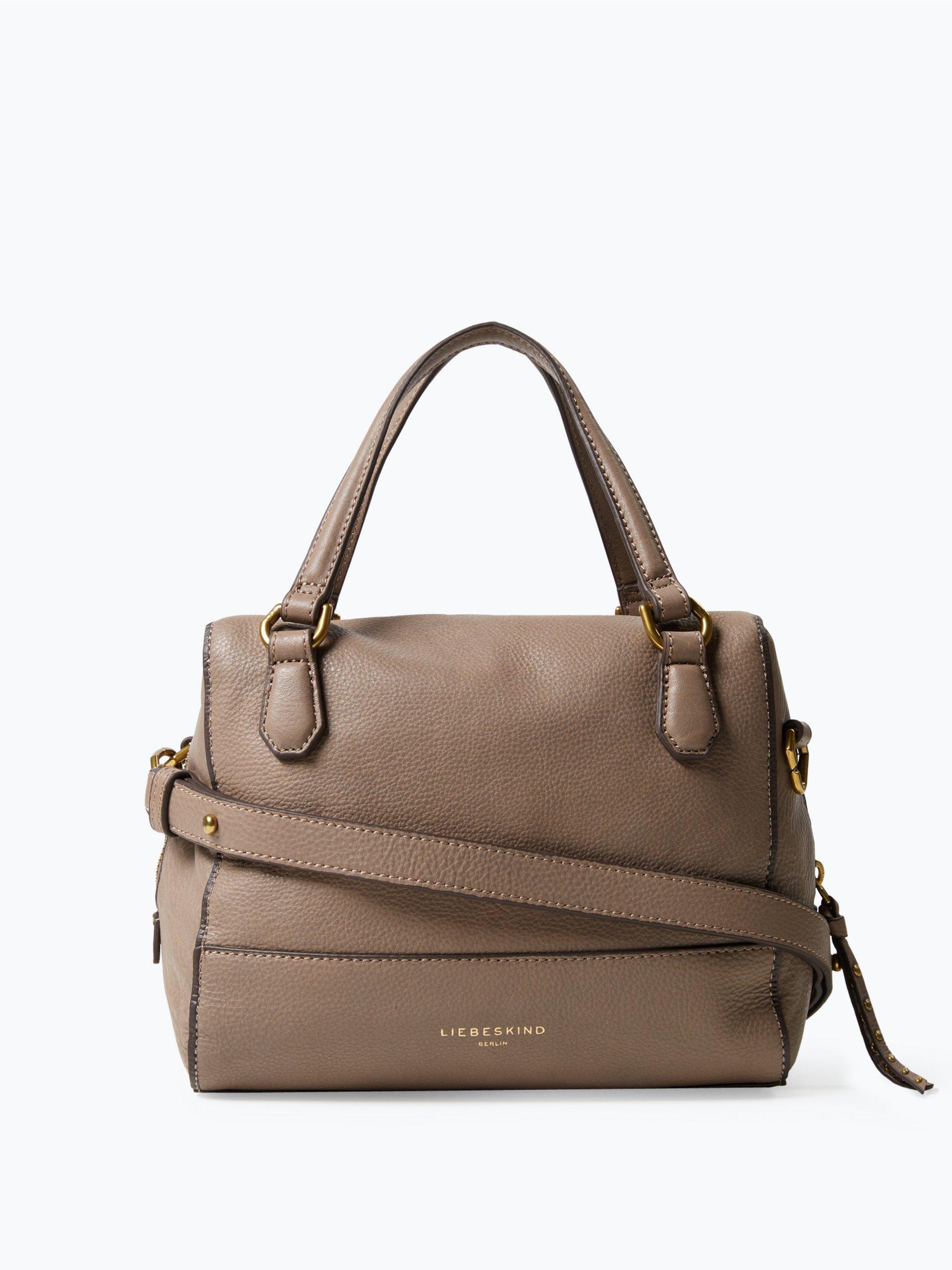 liebeskind damen handtasche aus leder detroit taupe uni online kaufen peek und cloppenburg de. Black Bedroom Furniture Sets. Home Design Ideas