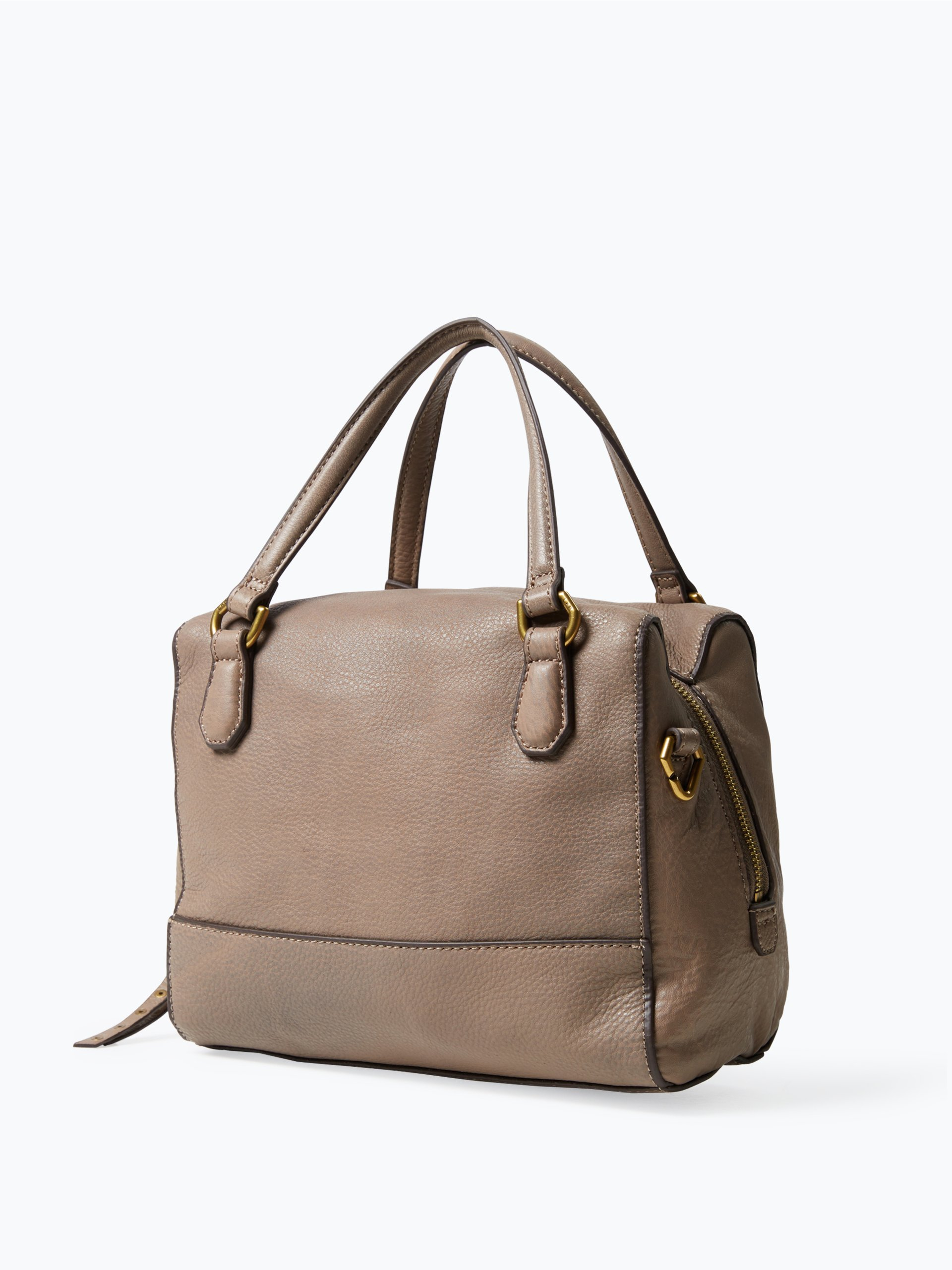 liebeskind damen handtasche aus leder detroit taupe uni online kaufen vangraaf com. Black Bedroom Furniture Sets. Home Design Ideas