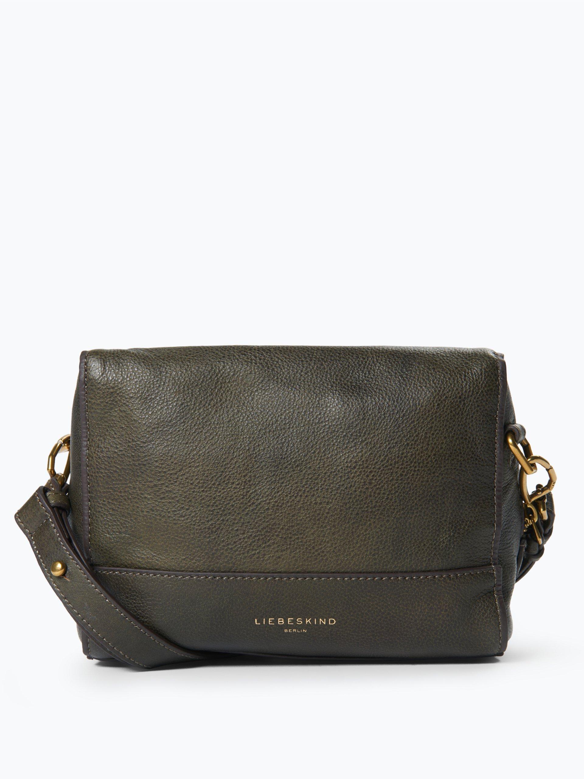 liebeskind damen handtasche aus leder syracuse oliv uni. Black Bedroom Furniture Sets. Home Design Ideas