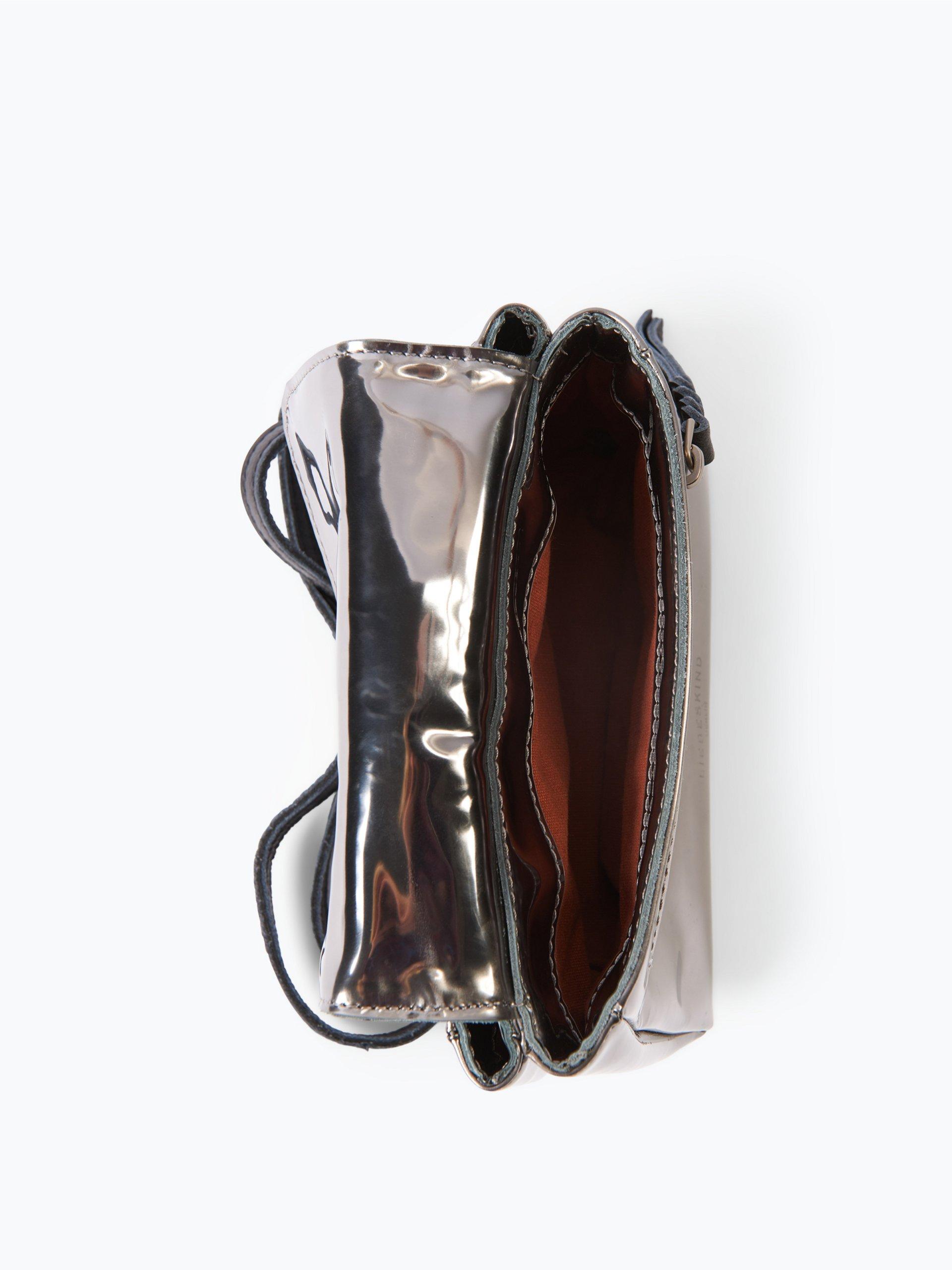 liebeskind damen umh ngetasche aus leder kawai silber uni online kaufen vangraaf com. Black Bedroom Furniture Sets. Home Design Ideas