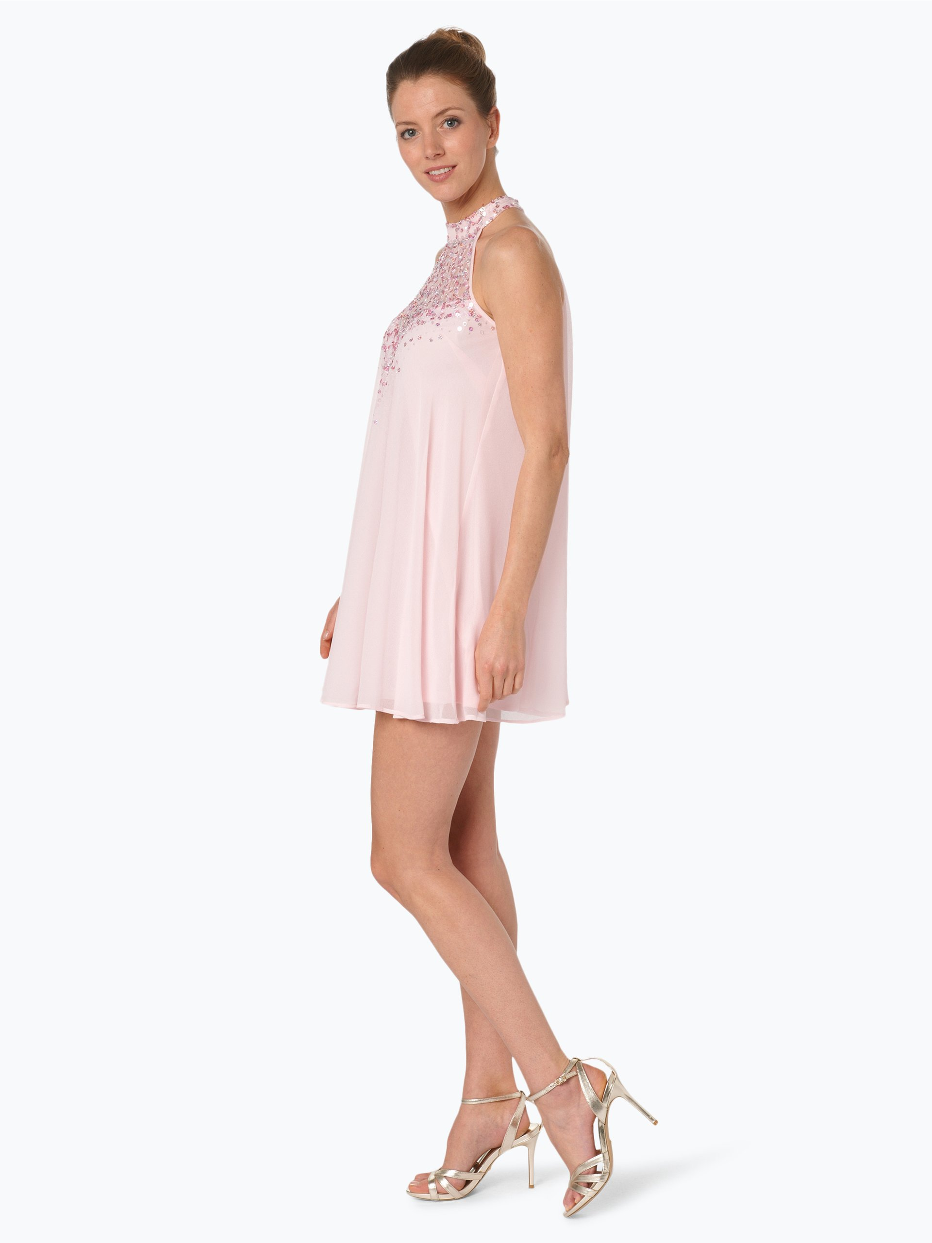 lipsy damen cocktailkleid rosa gemustert online kaufen. Black Bedroom Furniture Sets. Home Design Ideas