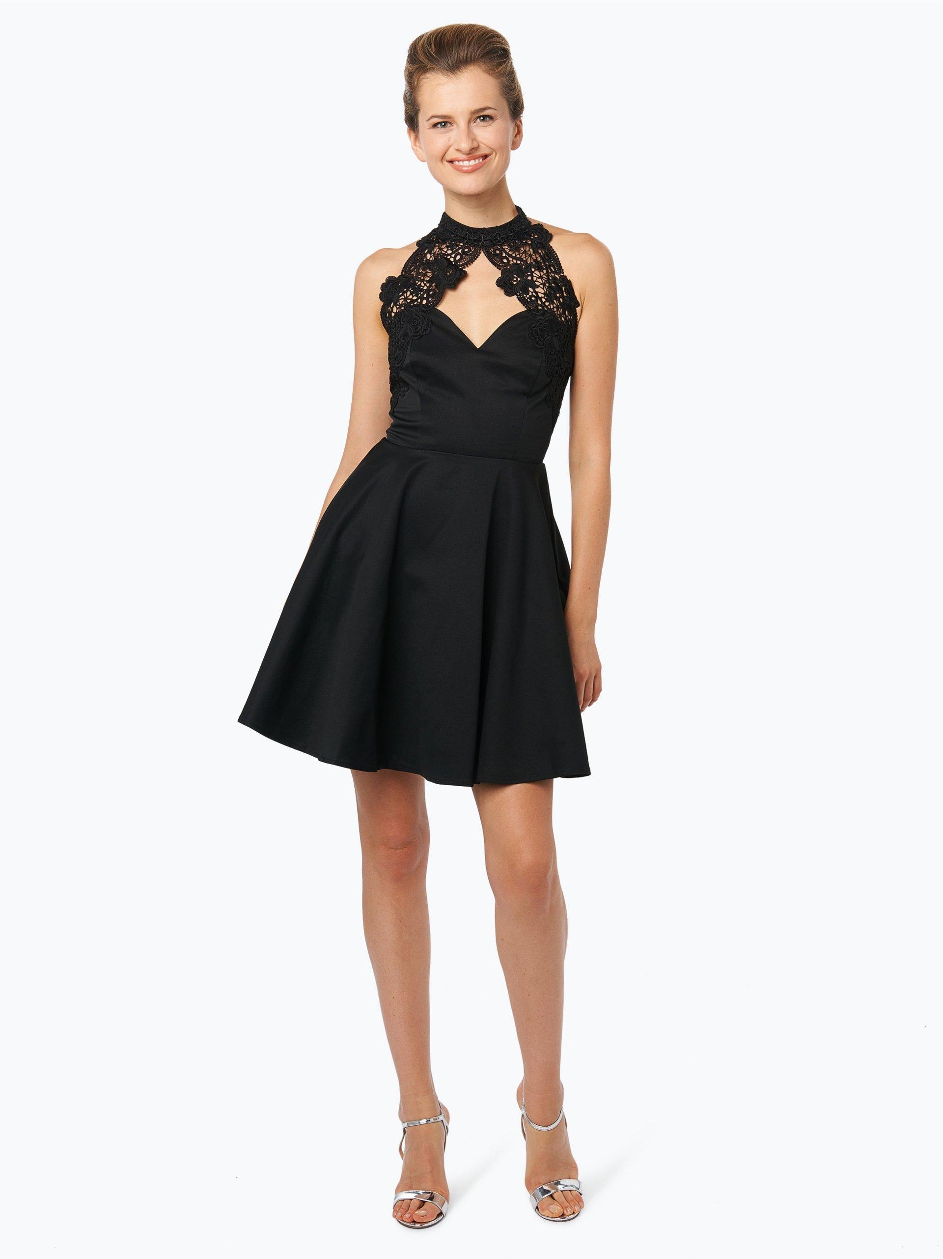 lipsy damen cocktailkleid schwarz uni online kaufen peek. Black Bedroom Furniture Sets. Home Design Ideas
