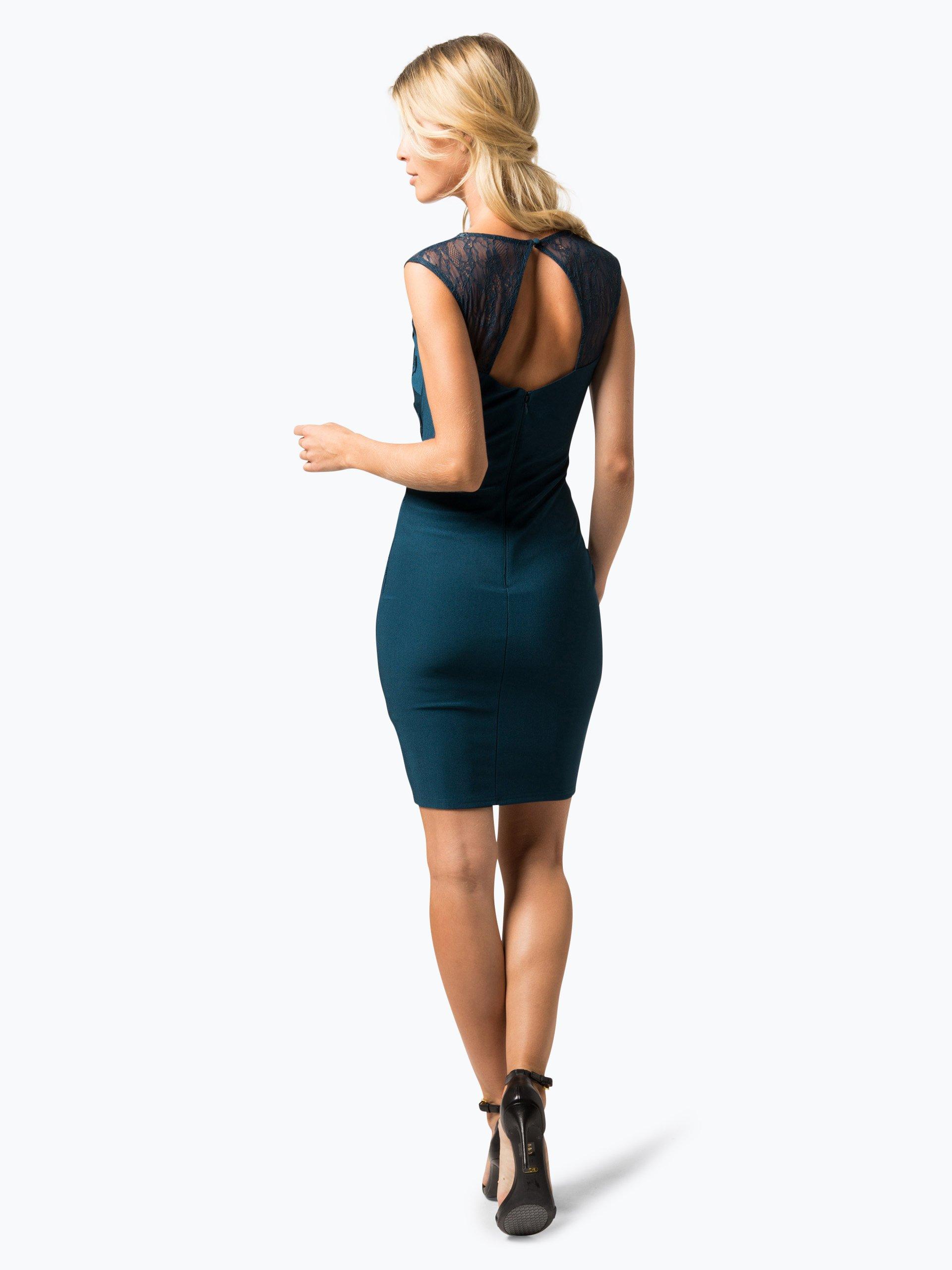 lipsy damen kleid petrol uni online kaufen peek und. Black Bedroom Furniture Sets. Home Design Ideas