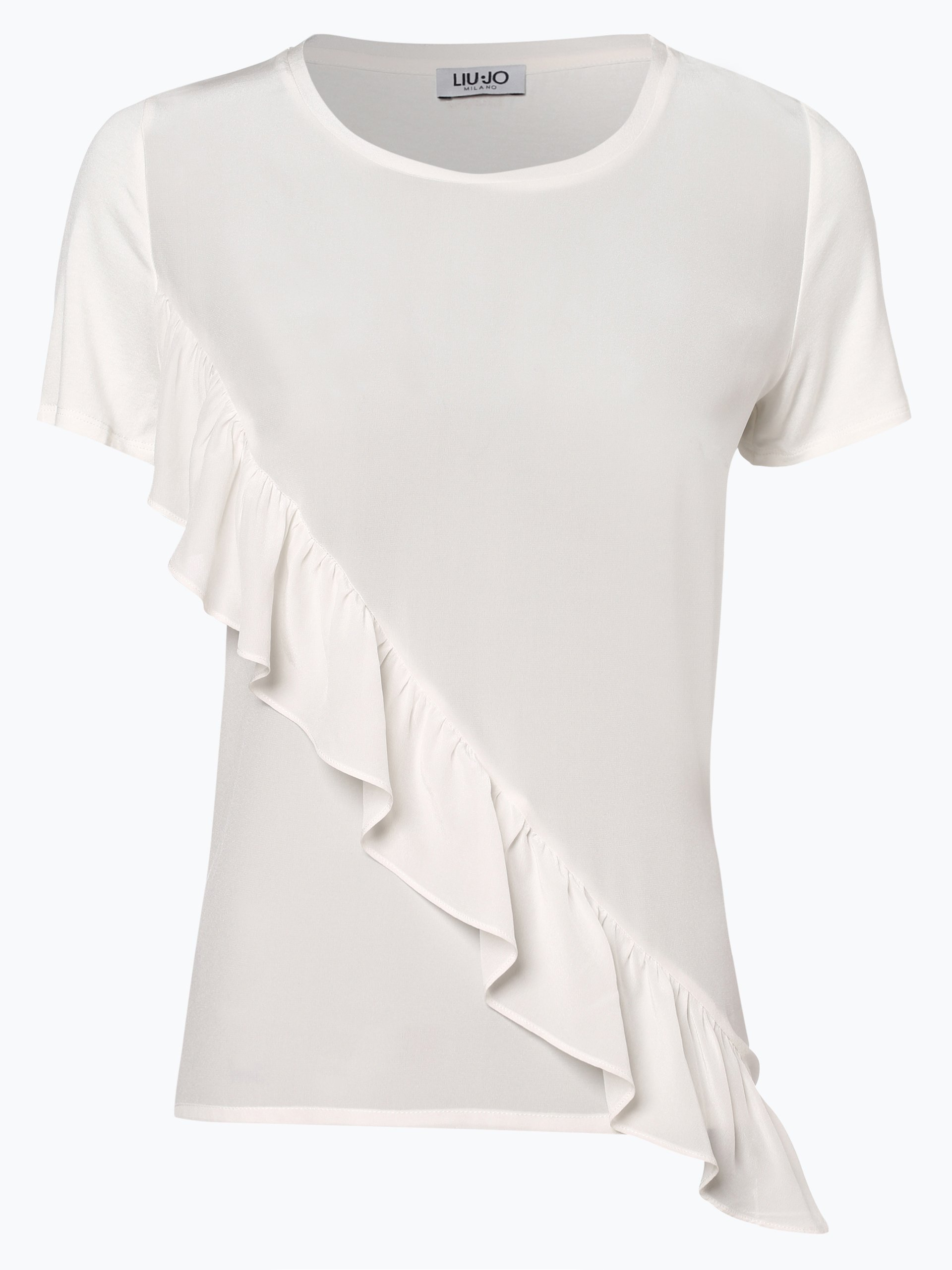 Liu Jo Collection Damen T-Shirt mit Seiden-Anteil