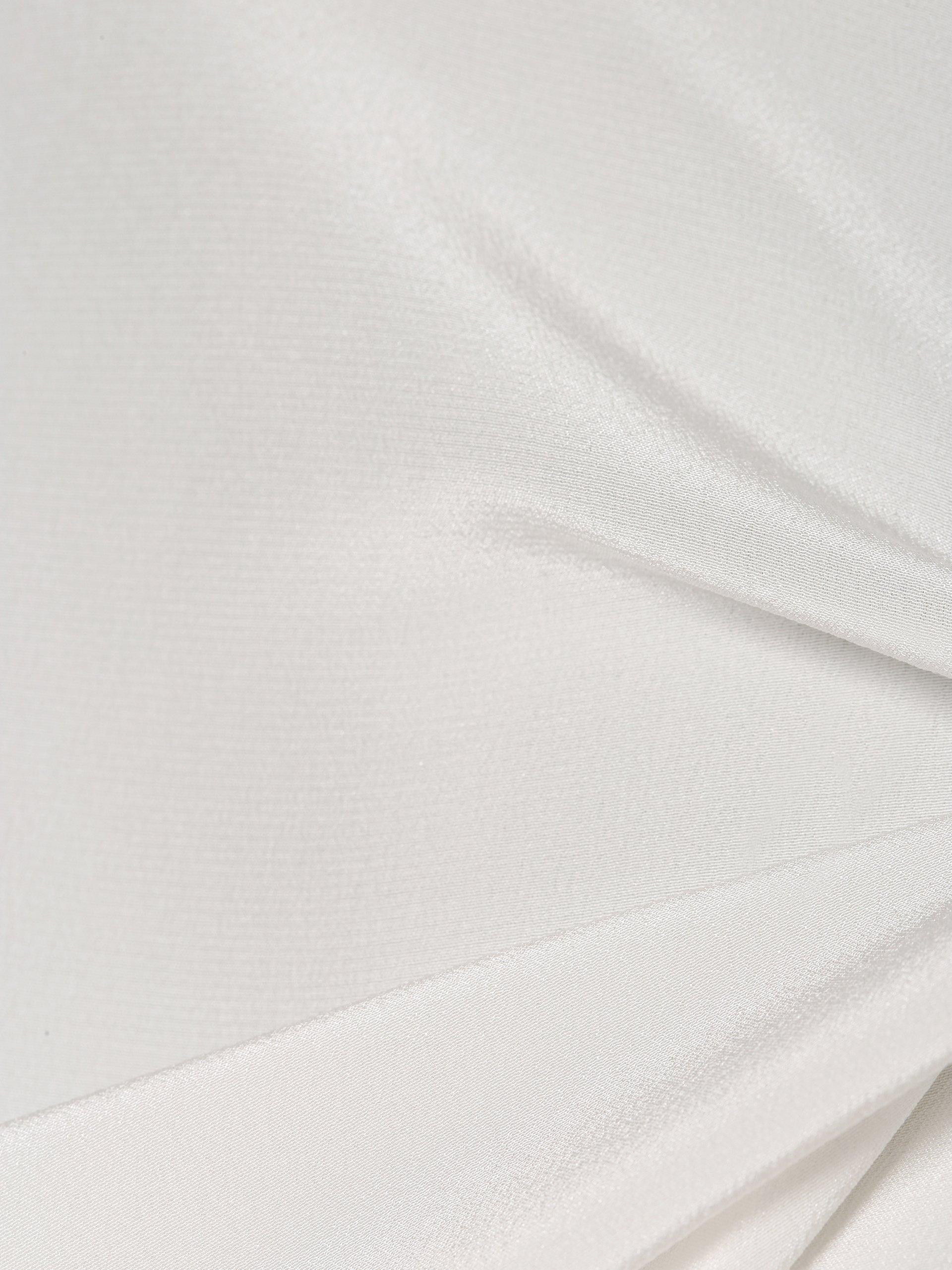 Liu Jo Collection T-shirt damski z dodatkiem jedwabiu
